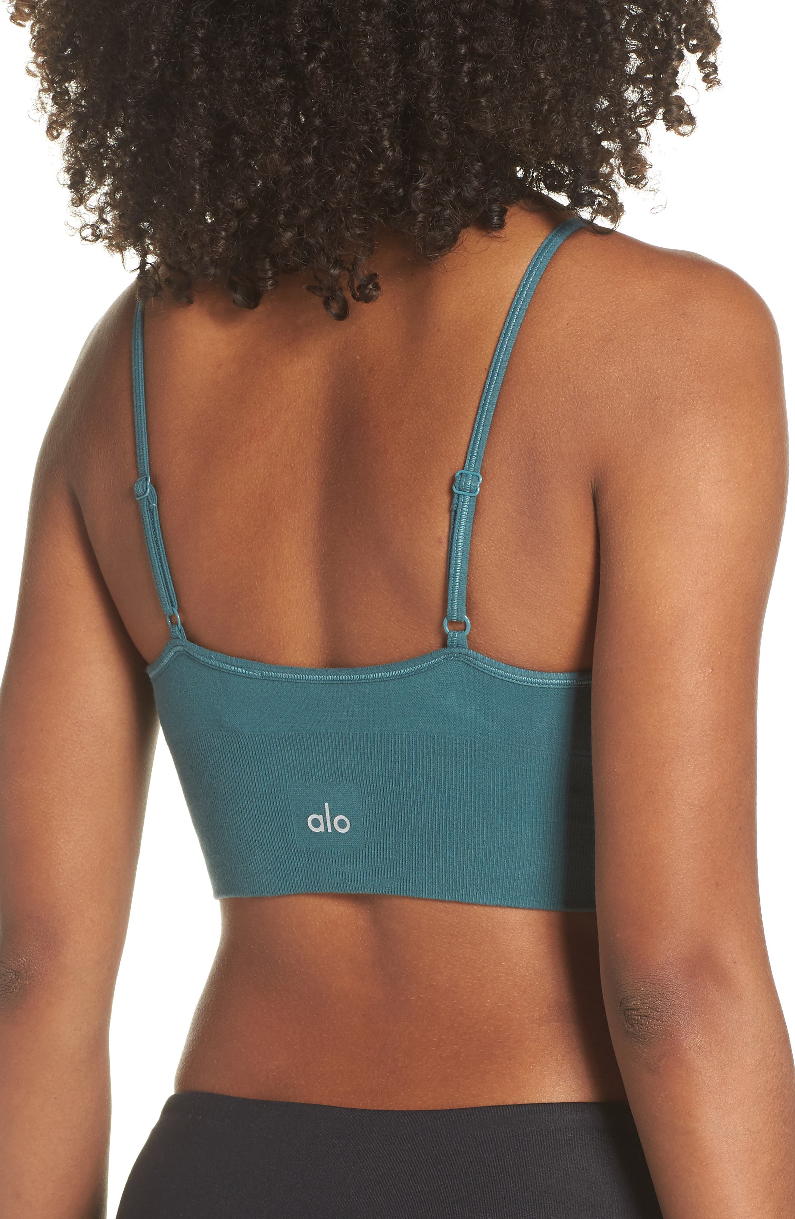 ALO, Delight Sports Bra, Alternate thumbnail 2, color, 442