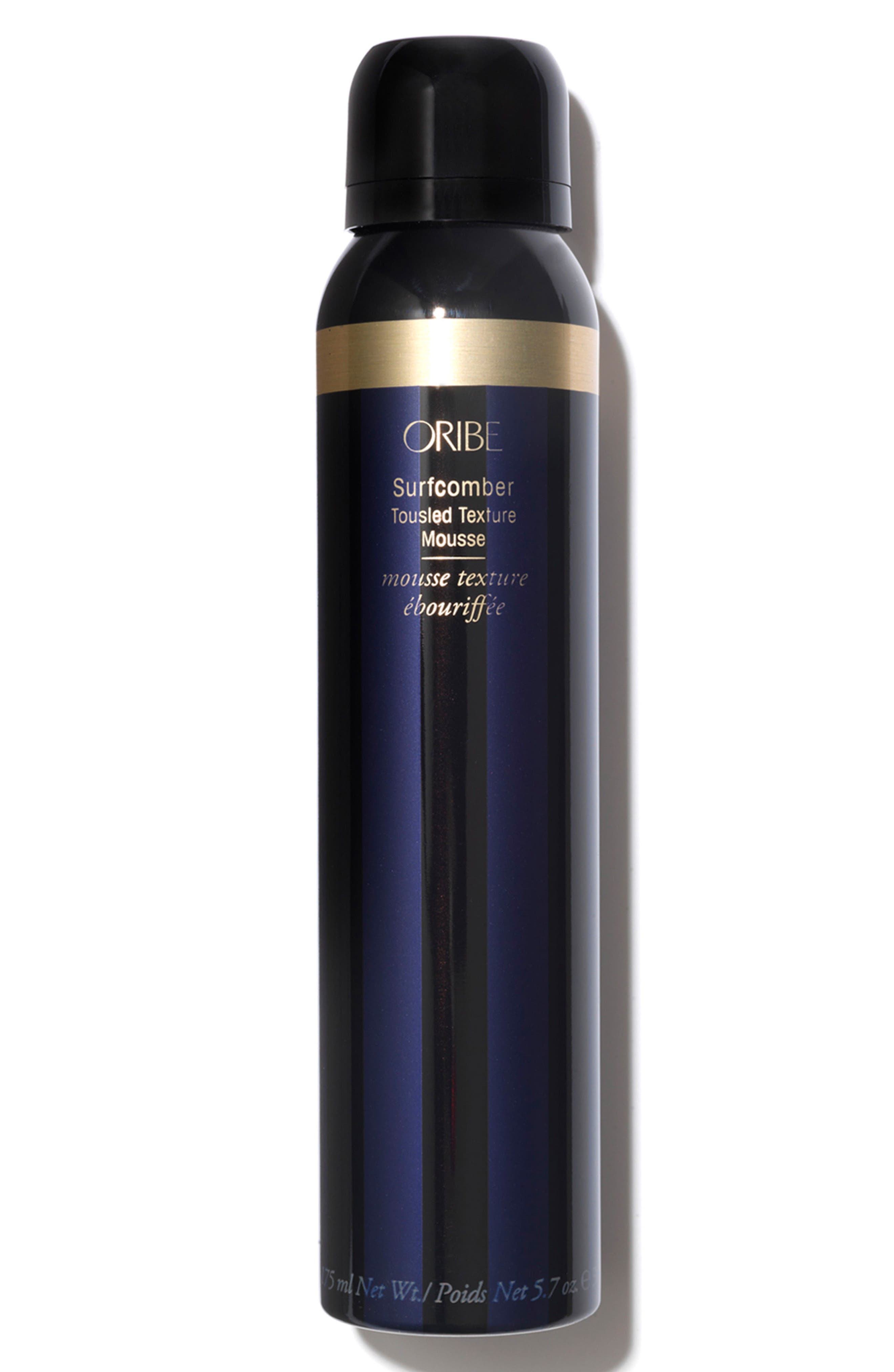 ORIBE, SPACE.NK.apothecary Oribe Surfcomber Tousled Texture Mousse, Main thumbnail 1, color, 000