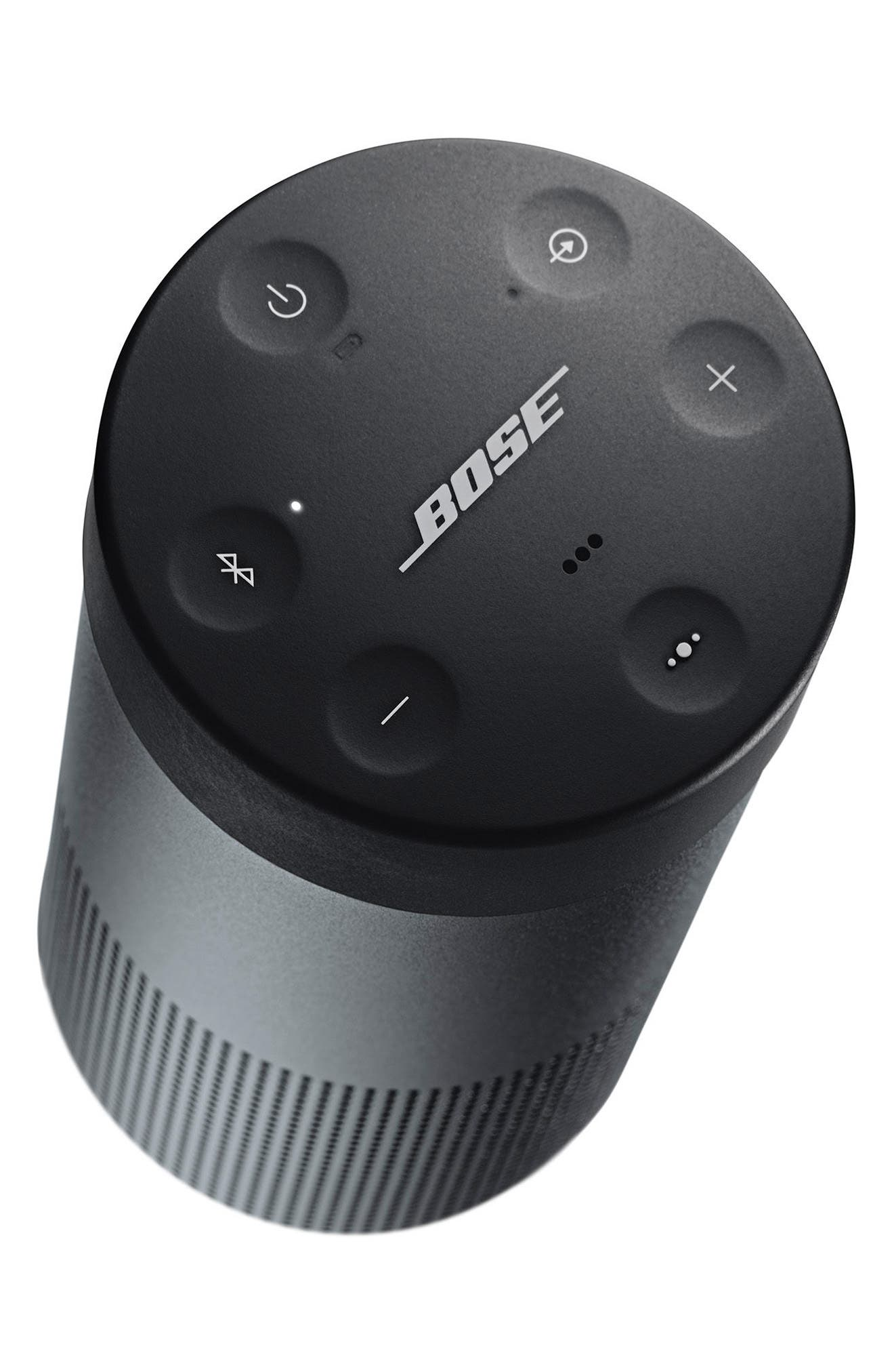 BOSE<SUP>®</SUP>, SoundLink<sup>®</sup> Revolve Bluetooth<sup>®</sup> Speaker, Alternate thumbnail 3, color, BLACK