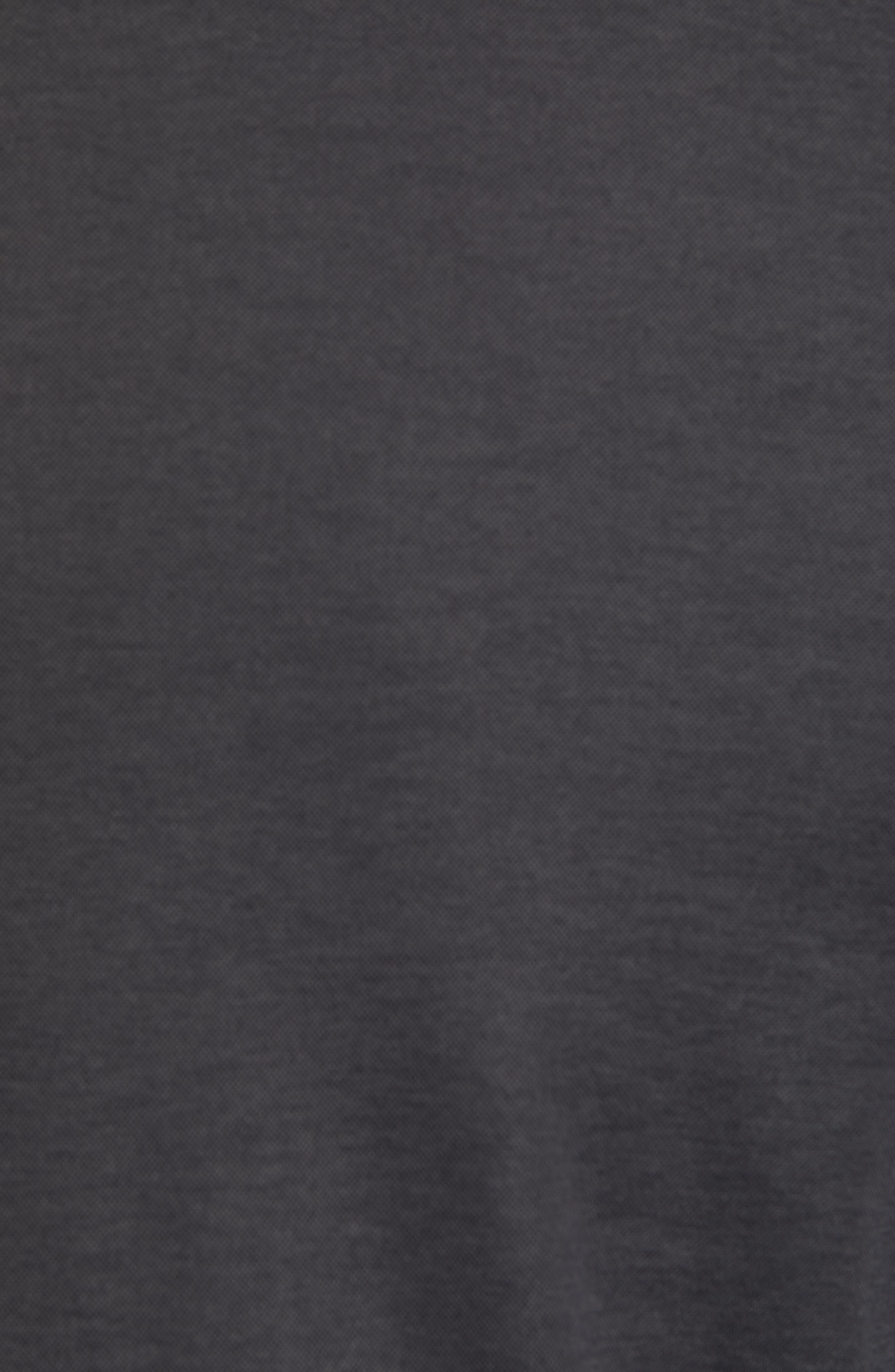 ZACHARY PRELL, Brookville Regular Fit Piqué T-Shirt, Alternate thumbnail 5, color, BLACK