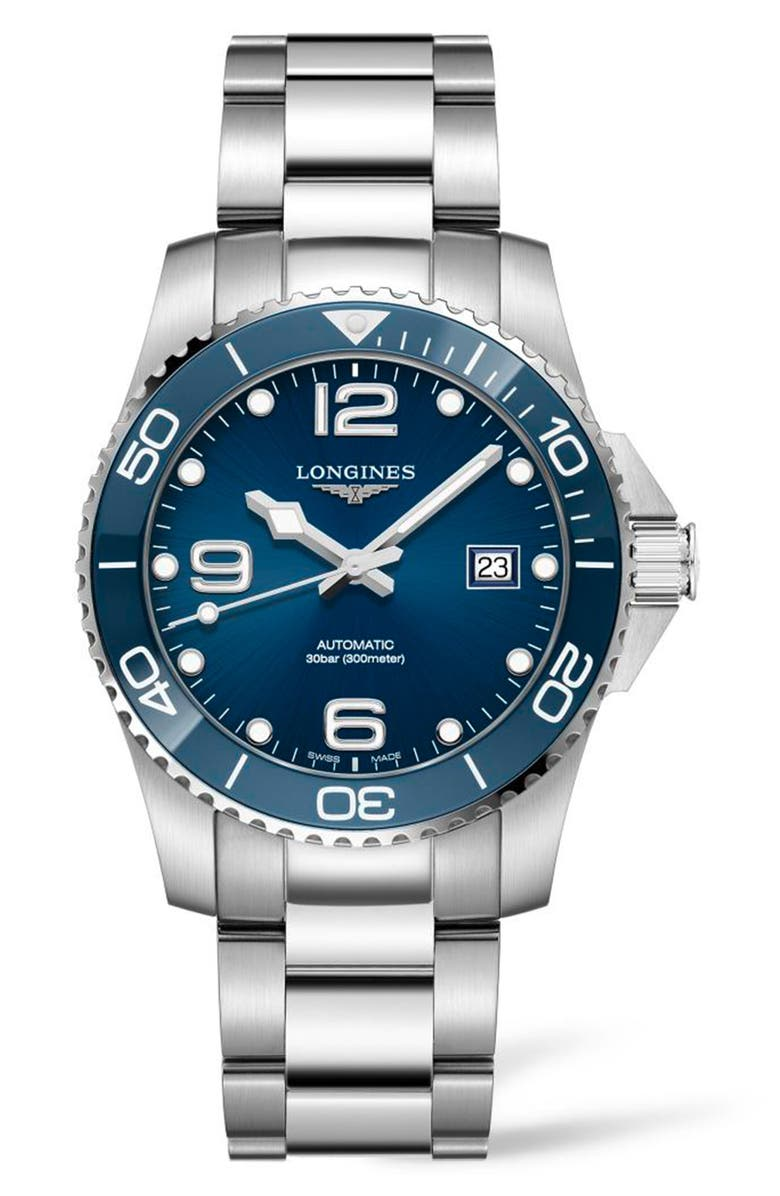 Longines Watches HydroConquest Automatic Bracelet Watch, 41mm
