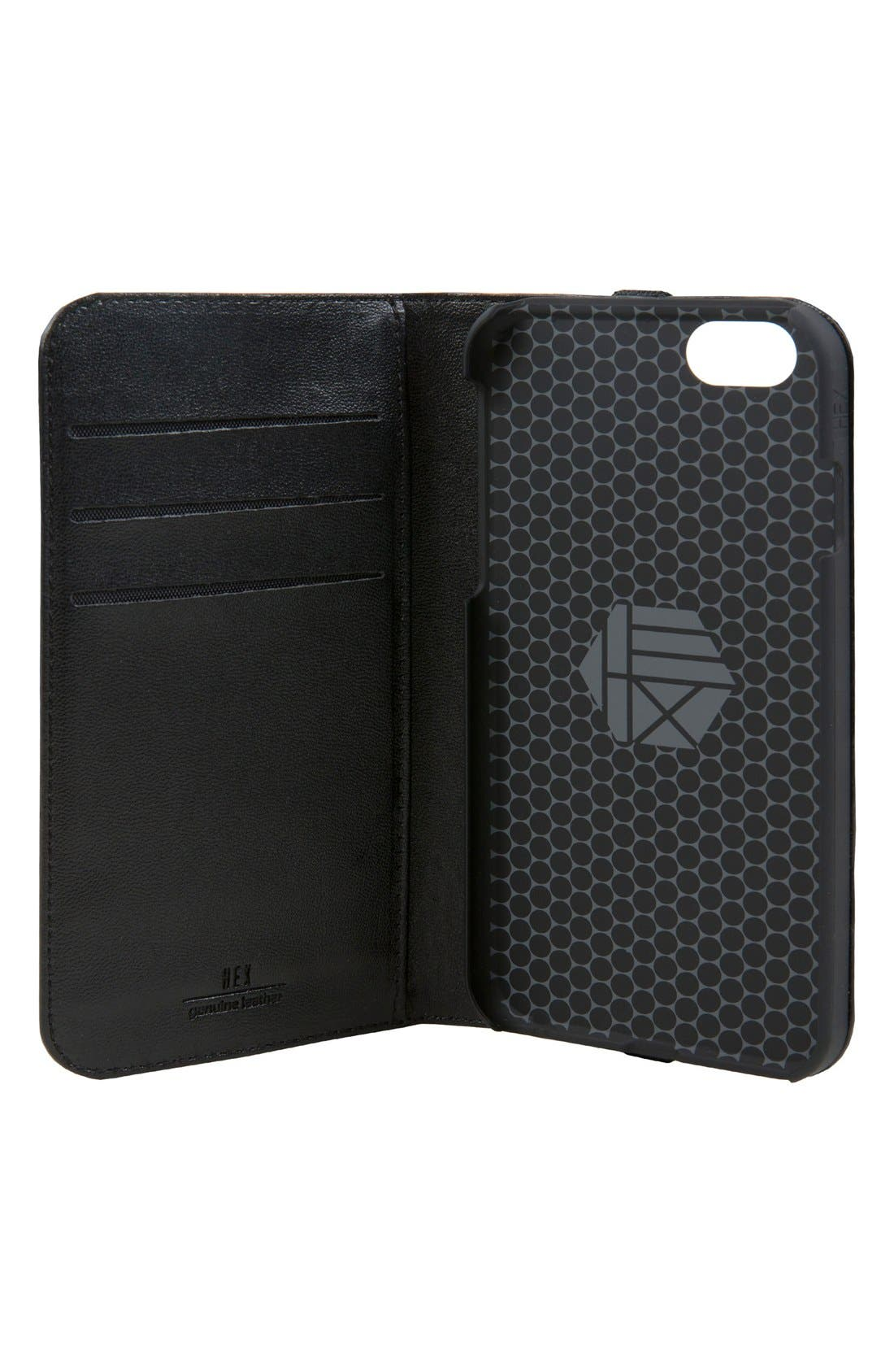 HEX, Icon iPhone 7/8 Plus Case & Wallet, Alternate thumbnail 4, color, 001
