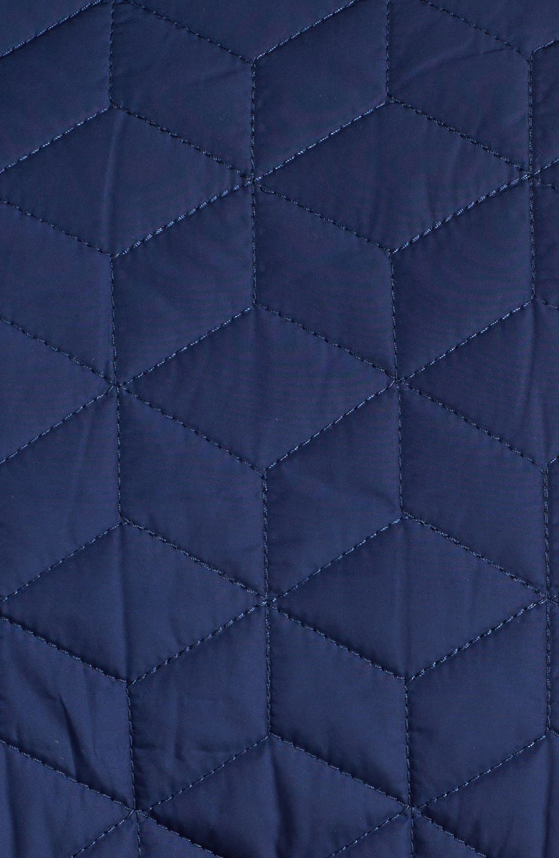 JACK SPADE, 'Herington' Quilted Vest, Alternate thumbnail 3, color, 400
