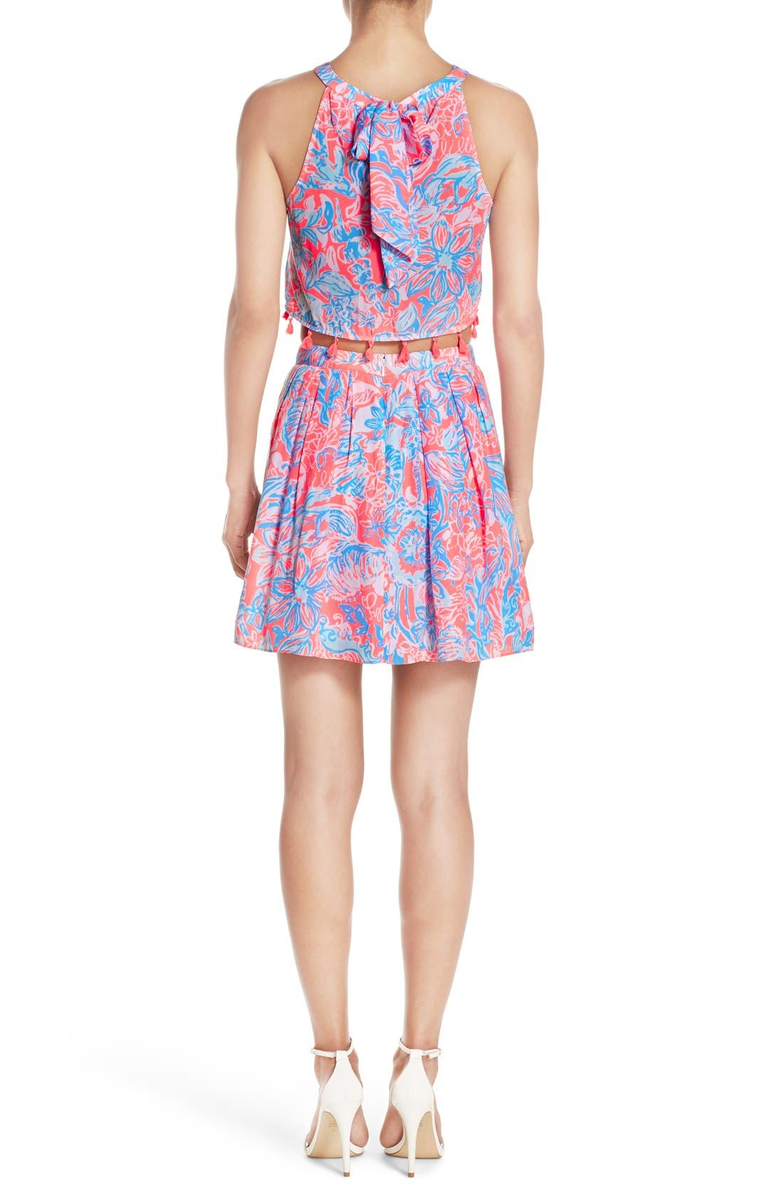 LILLY PULITZER<SUP>®</SUP>, 'Selina' Two-Piece Dress, Alternate thumbnail 2, color, 677