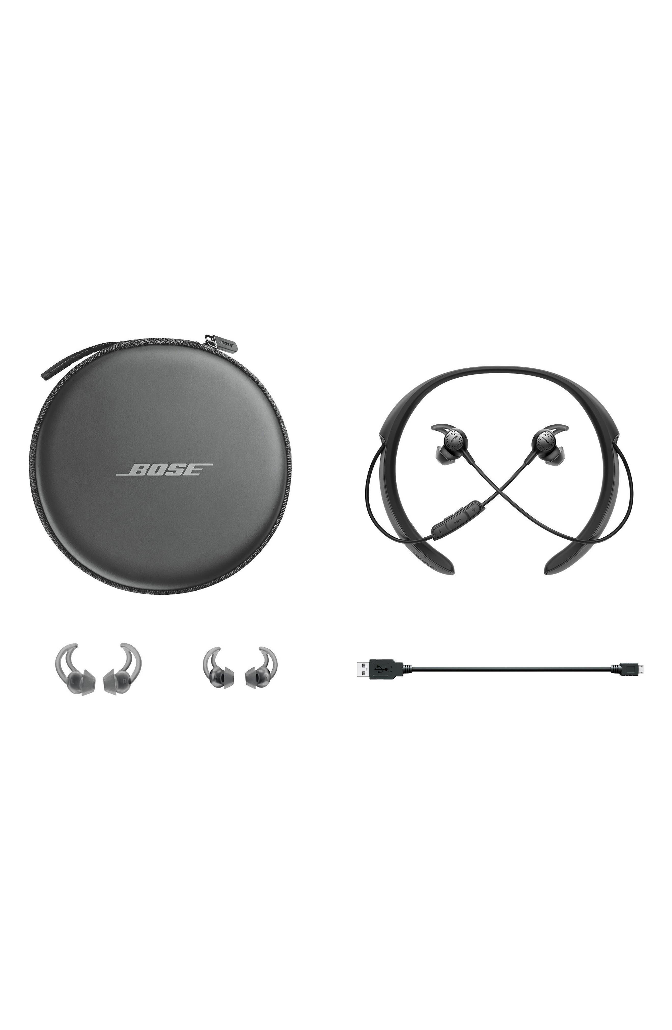 BOSE<SUP>®</SUP>, QuietControl<sup>®</sup> 30 Wireless Headphones, Alternate thumbnail 7, color, BLACK