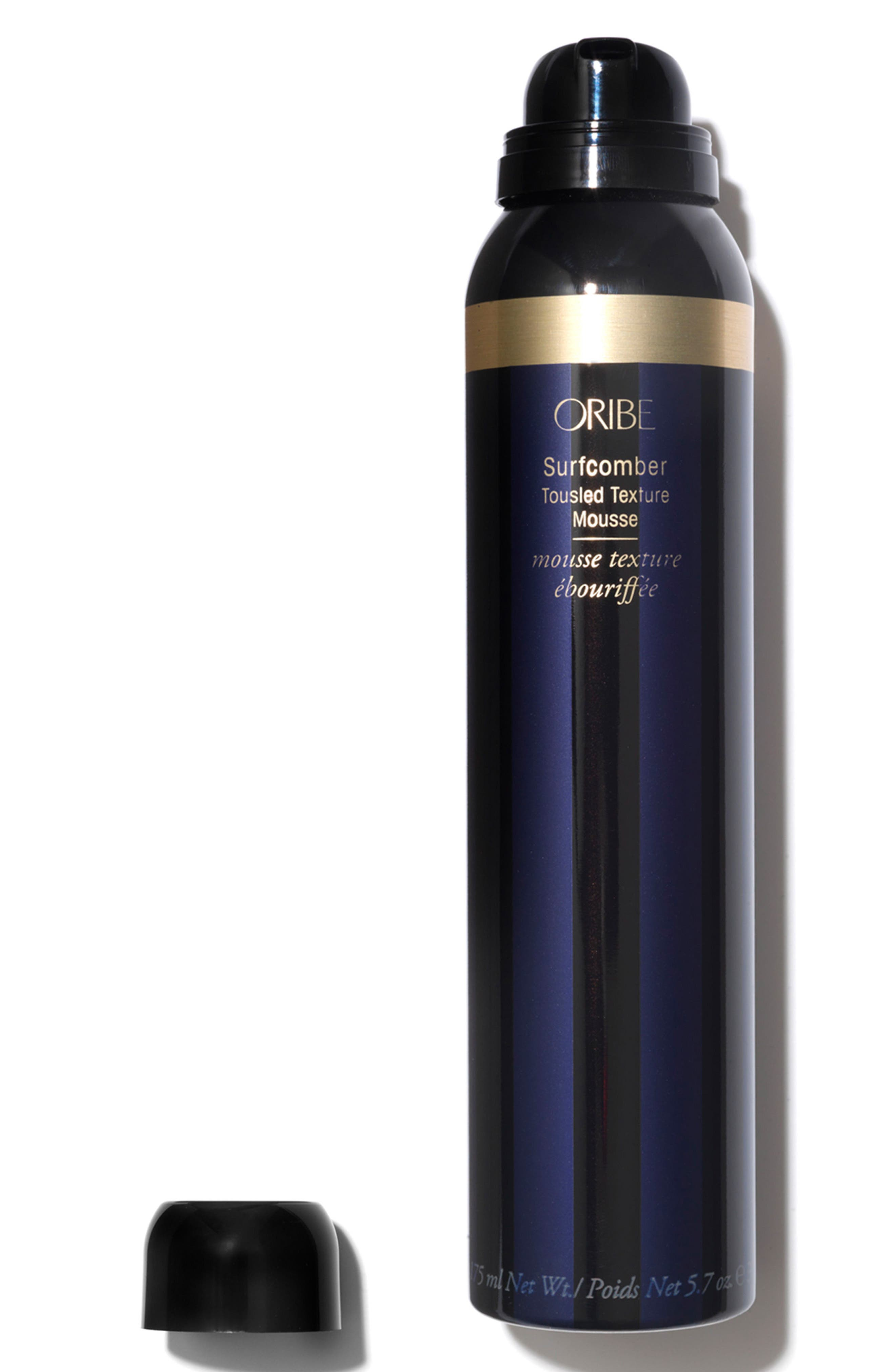 ORIBE, SPACE.NK.apothecary Oribe Surfcomber Tousled Texture Mousse, Alternate thumbnail 4, color, 000