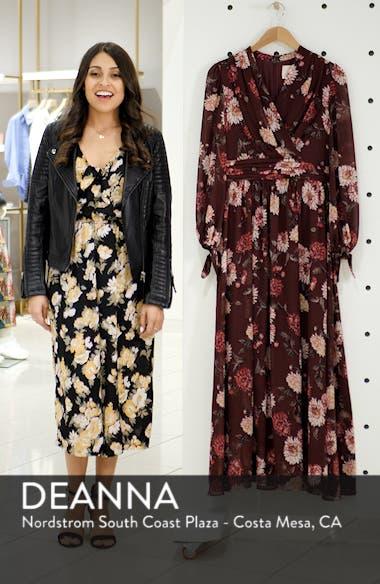 Georgia Chiffon Maxi Dress, sales video thumbnail