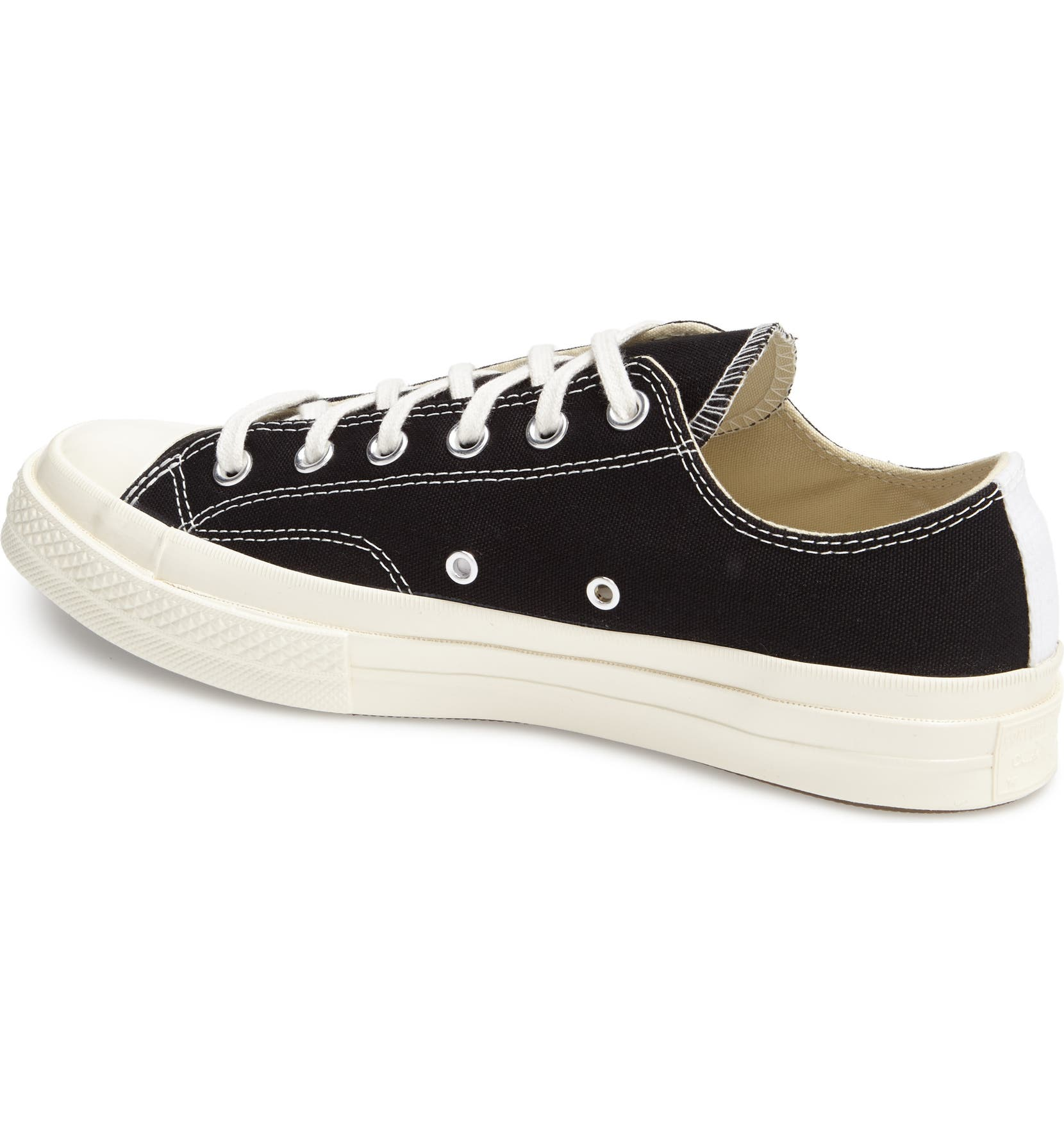 2b84b1ef9045 Comme des Garçons PLAY x Converse Chuck Taylor® Hidden Heart Low Top Sneaker  (Women)