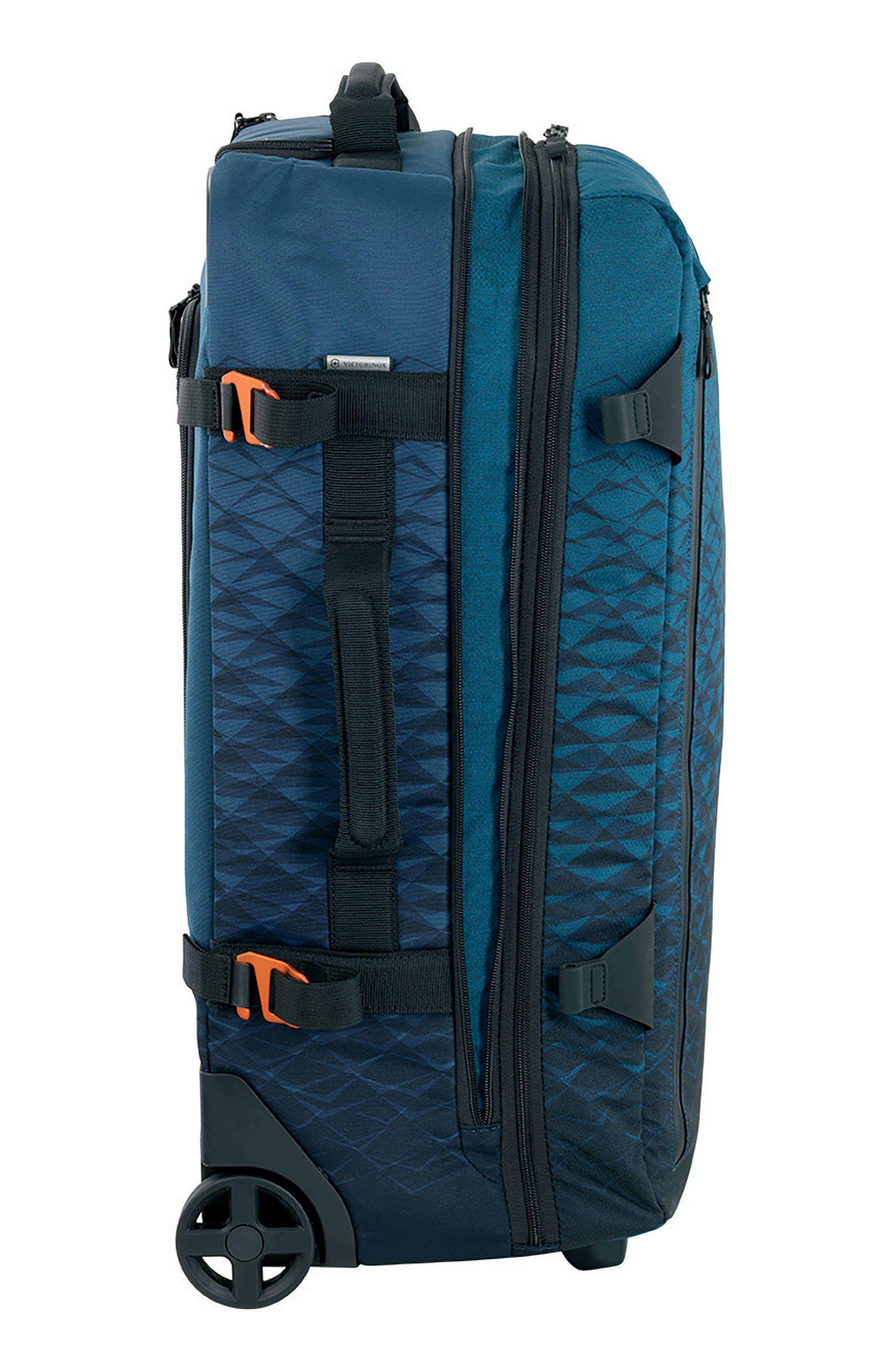 VICTORINOX SWISS ARMY<SUP>®</SUP>, VX Touring Medium 26-Inch Wheeled Duffle Bag, Alternate thumbnail 2, color, DARK TEAL
