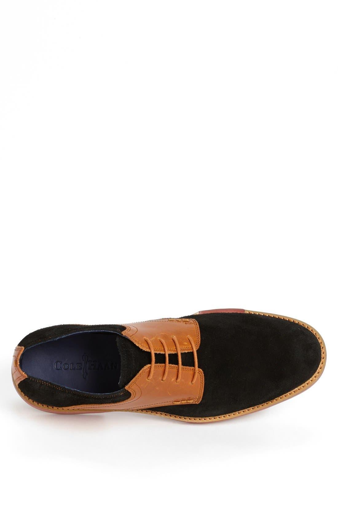 COLE HAAN, 'Great Jones' Saddle Shoe, Alternate thumbnail 3, color, 001