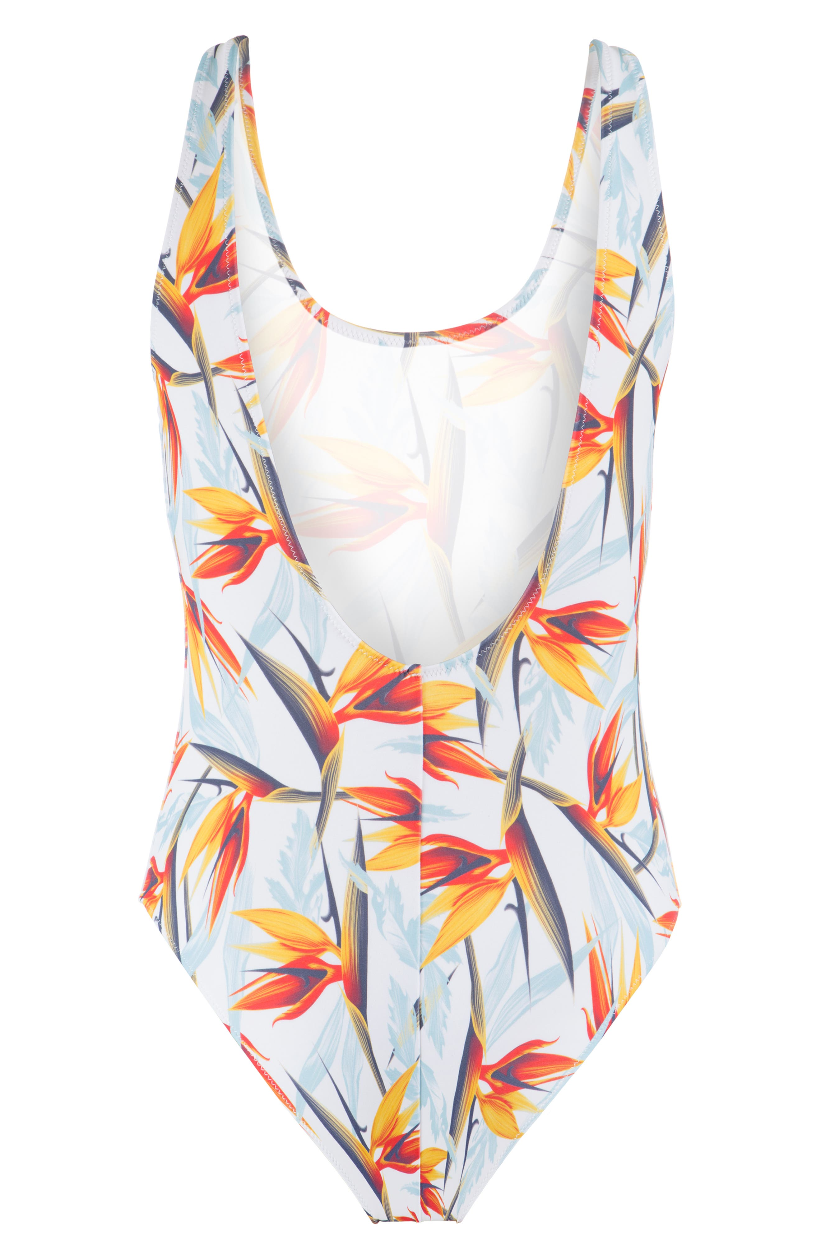 LIVELY, The Tank Print One-Piece Swimsuit, Alternate thumbnail 5, color, DAYBREAK PRINT