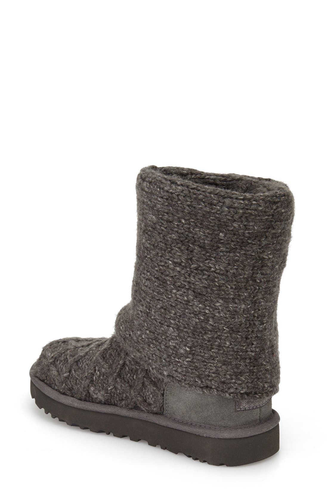 UGG<SUP>®</SUP>, Lattice Cardy II Boot, Alternate thumbnail 3, color, 020