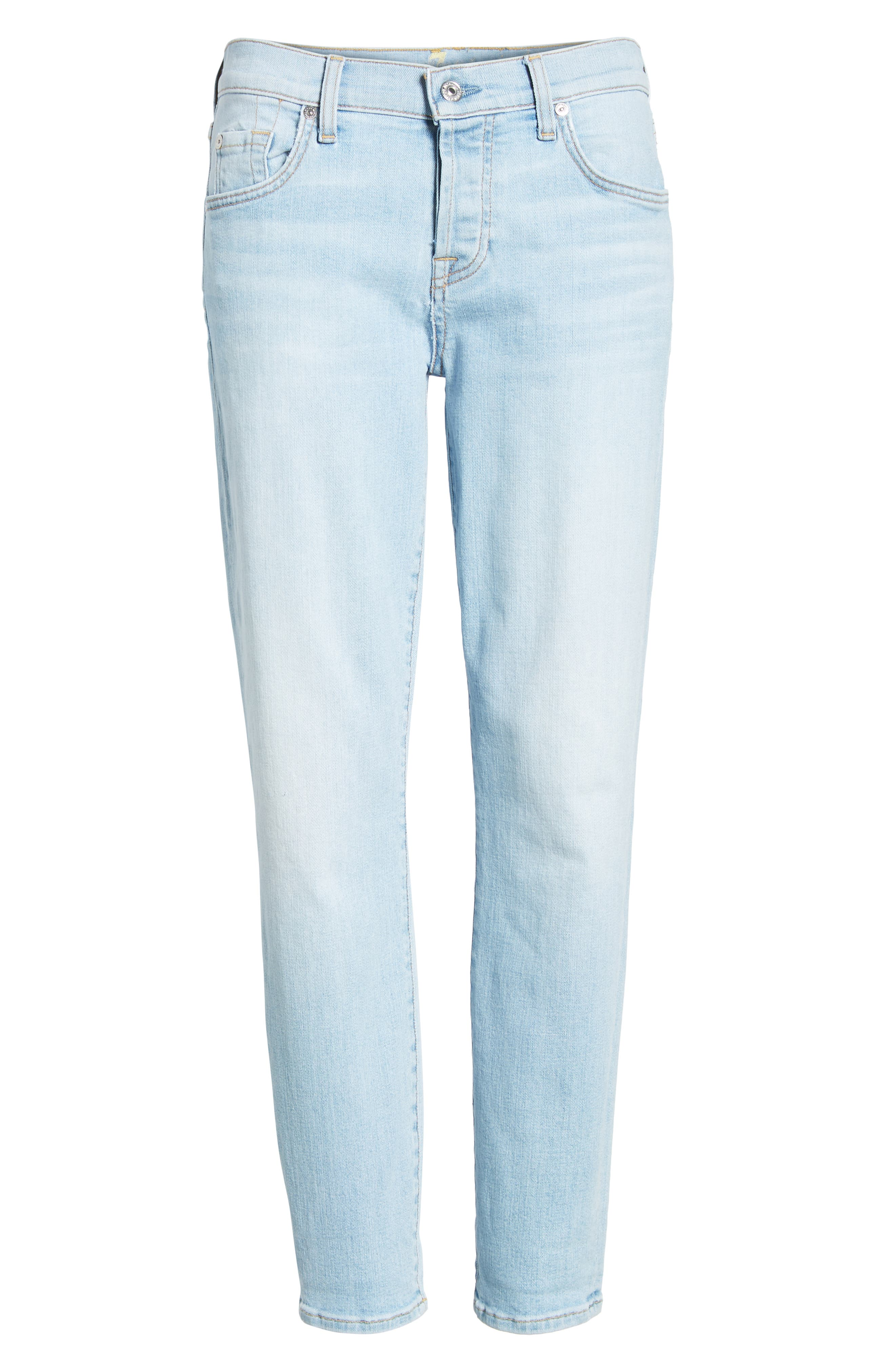 7 FOR ALL MANKIND<SUP>®</SUP>, 'Josefina' Boyfriend Jeans, Alternate thumbnail 7, color, 408