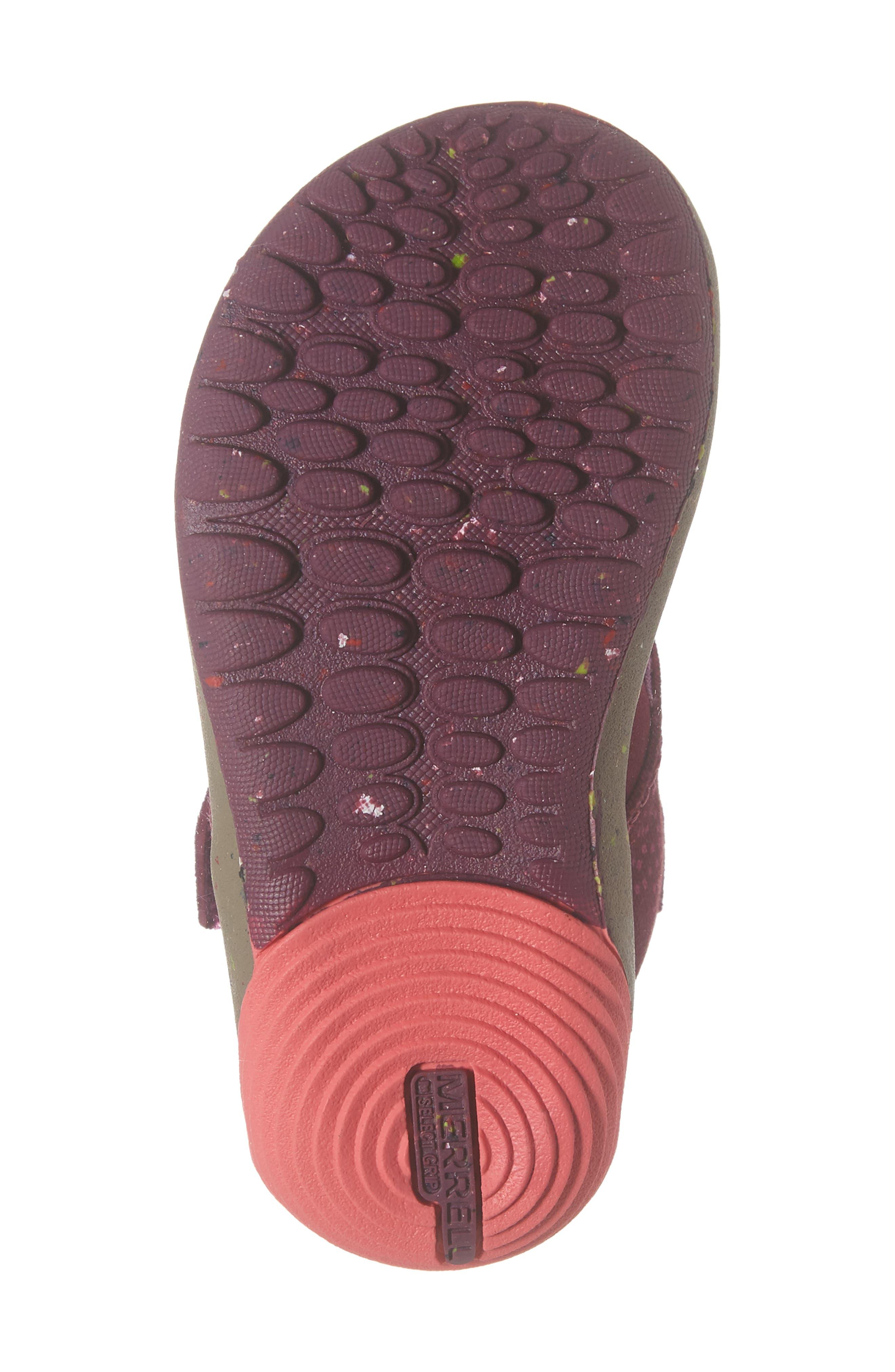 MERRELL, Bare Steps Boot, Alternate thumbnail 6, color, BERRY