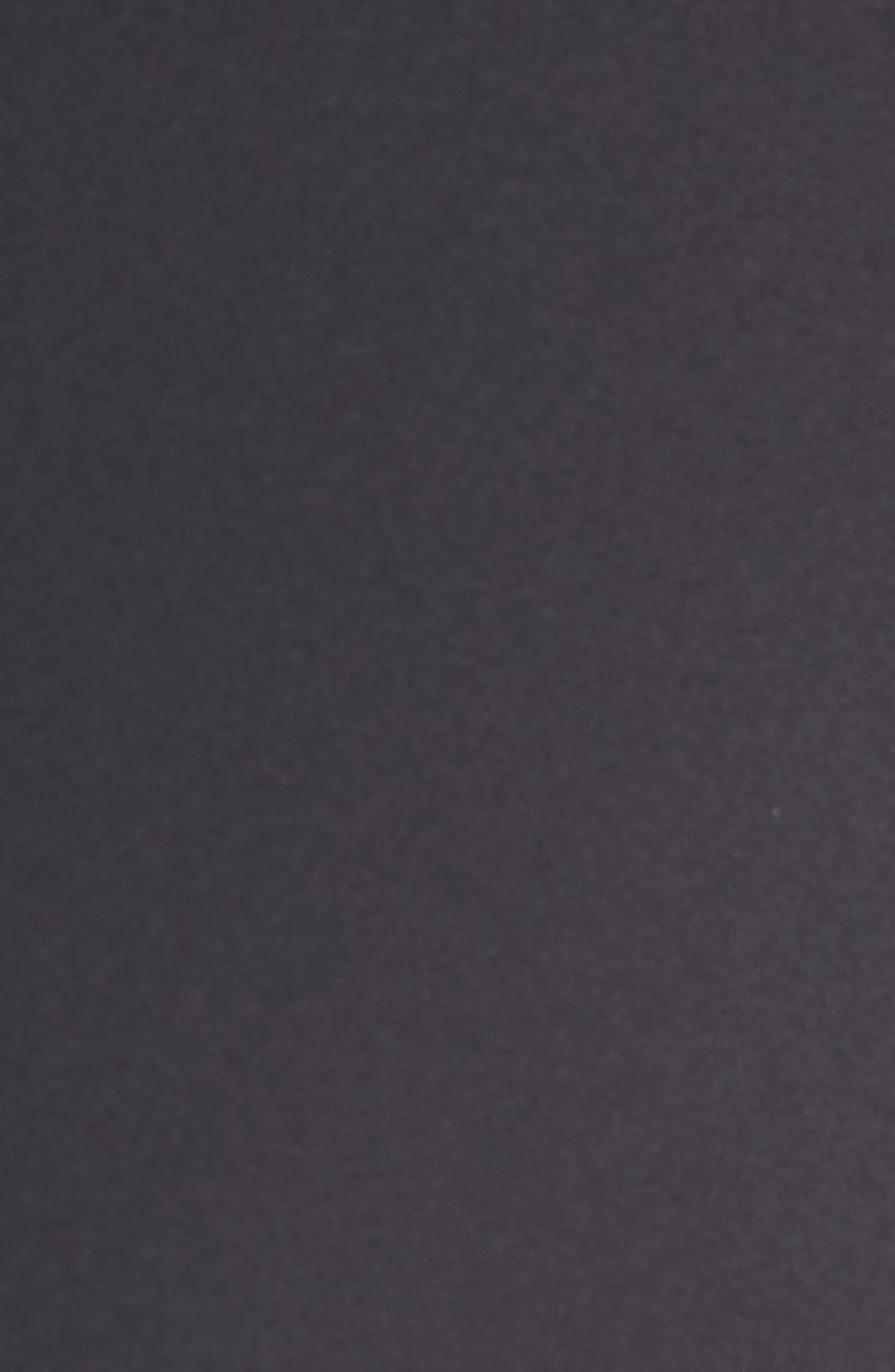 REBECCA TAYLOR, Audra Crop Pants, Alternate thumbnail 6, color, BLACK