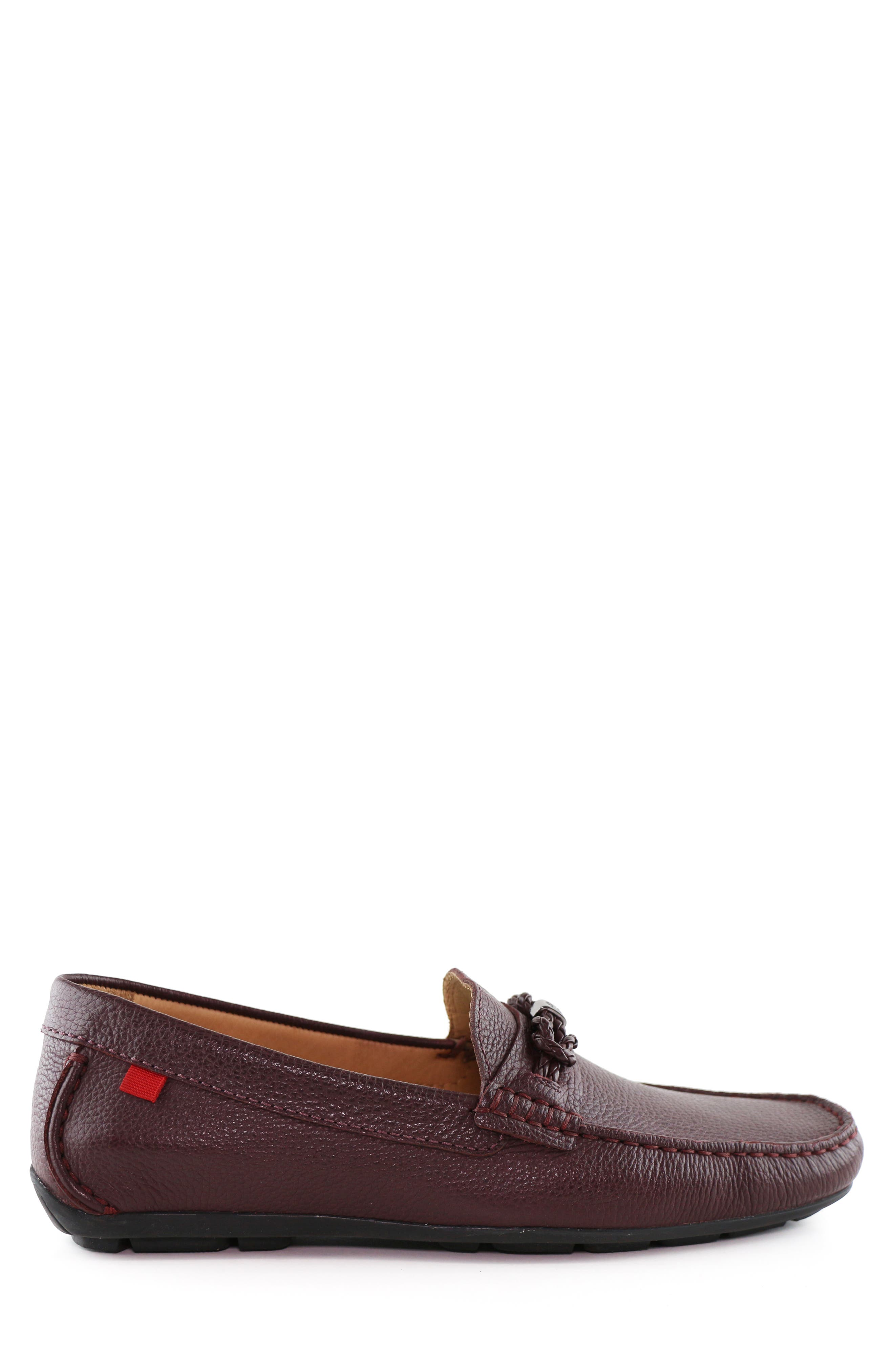 MARC JOSEPH NEW YORK, West Village Driving Shoe, Alternate thumbnail 3, color, 930