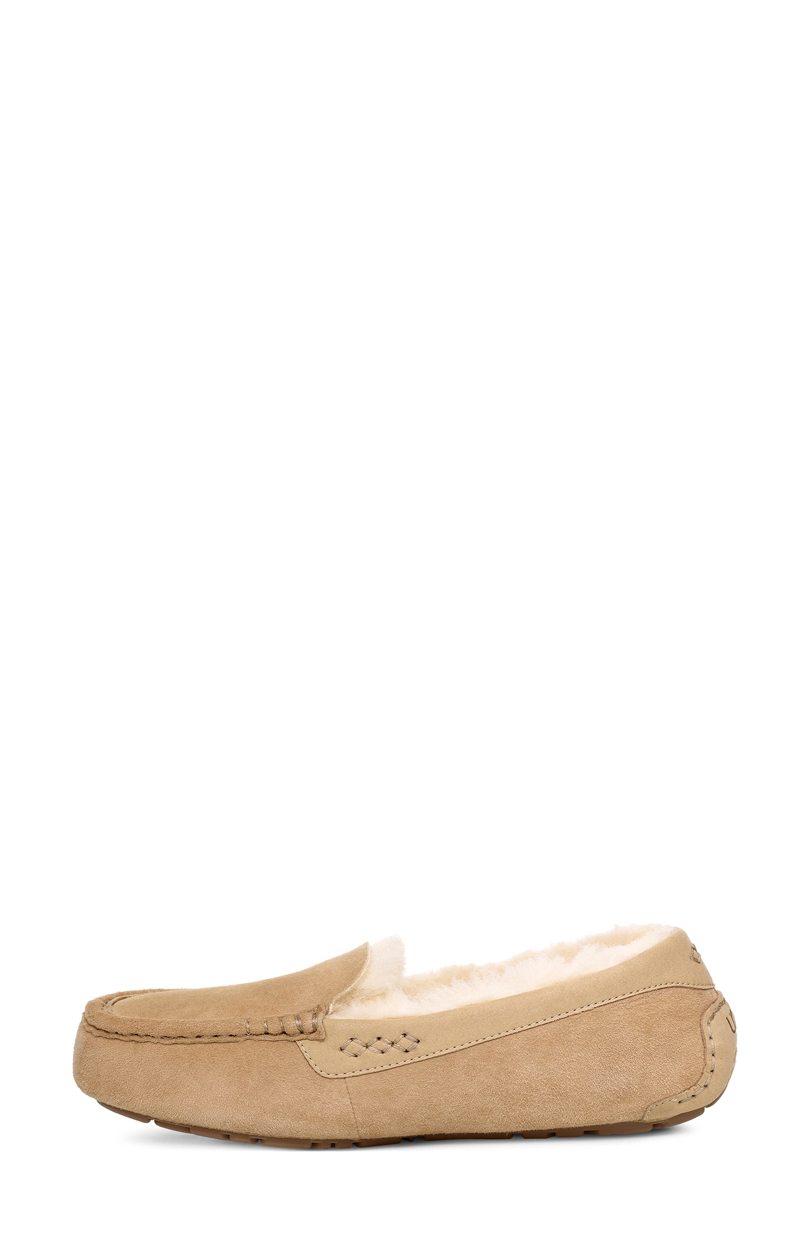 UGG<SUP>®</SUP>, Ansley 40:40:40 Anniversary Slipper, Alternate thumbnail 3, color, SAND