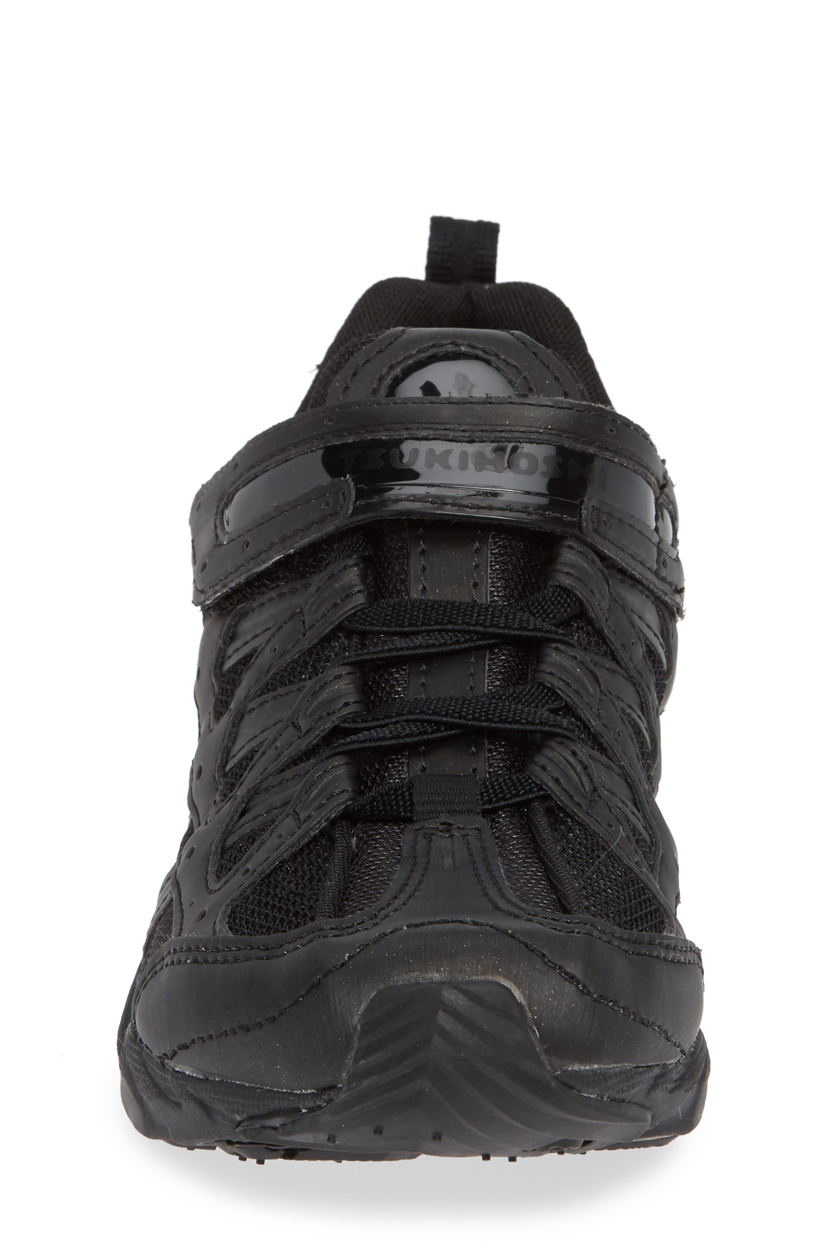 TSUKIHOSHI, Speed Washable Sneaker, Alternate thumbnail 4, color, BLACK/ NOIR