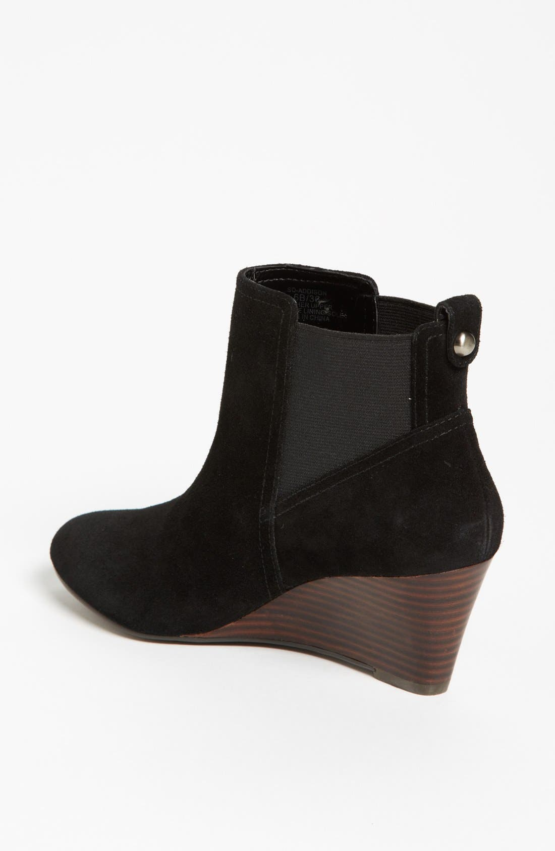 SOLE SOCIETY, 'Addison' Bootie, Alternate thumbnail 3, color, 001