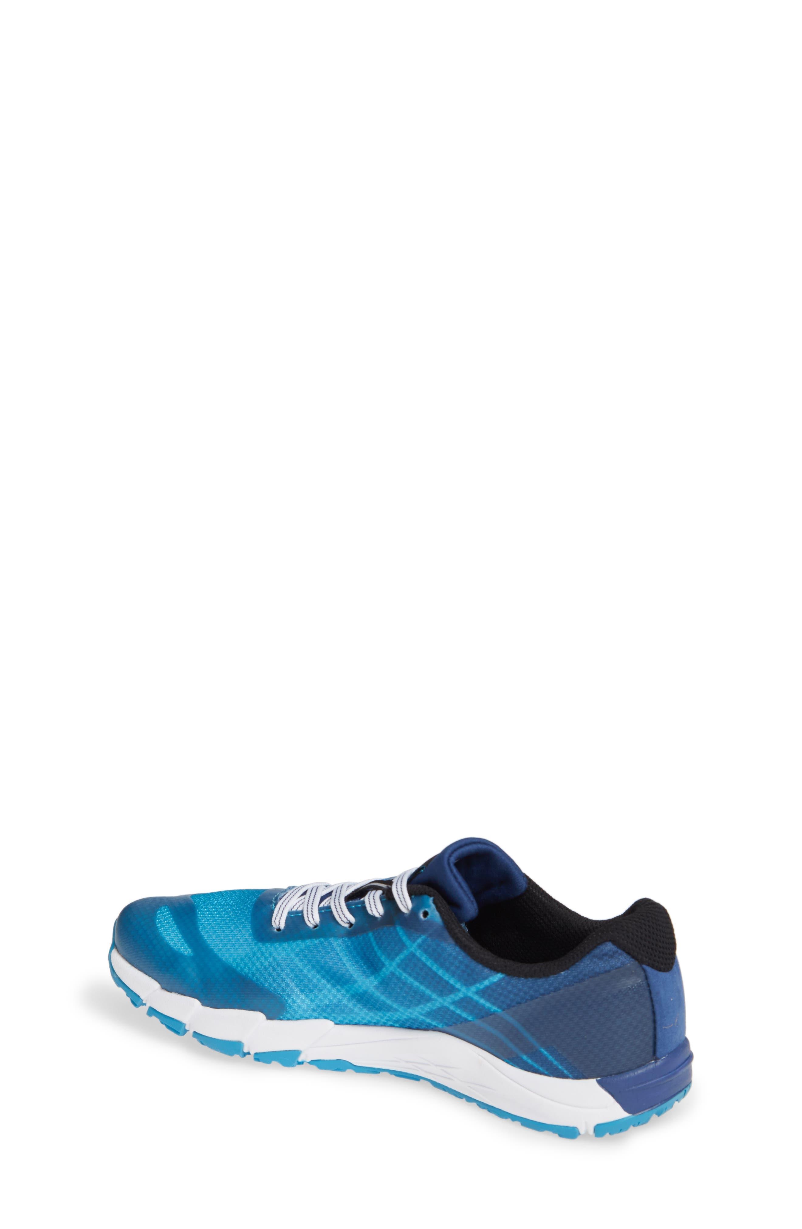 MERRELL, Bare Access Sneaker, Alternate thumbnail 2, color, BLUE SYNTHETIC