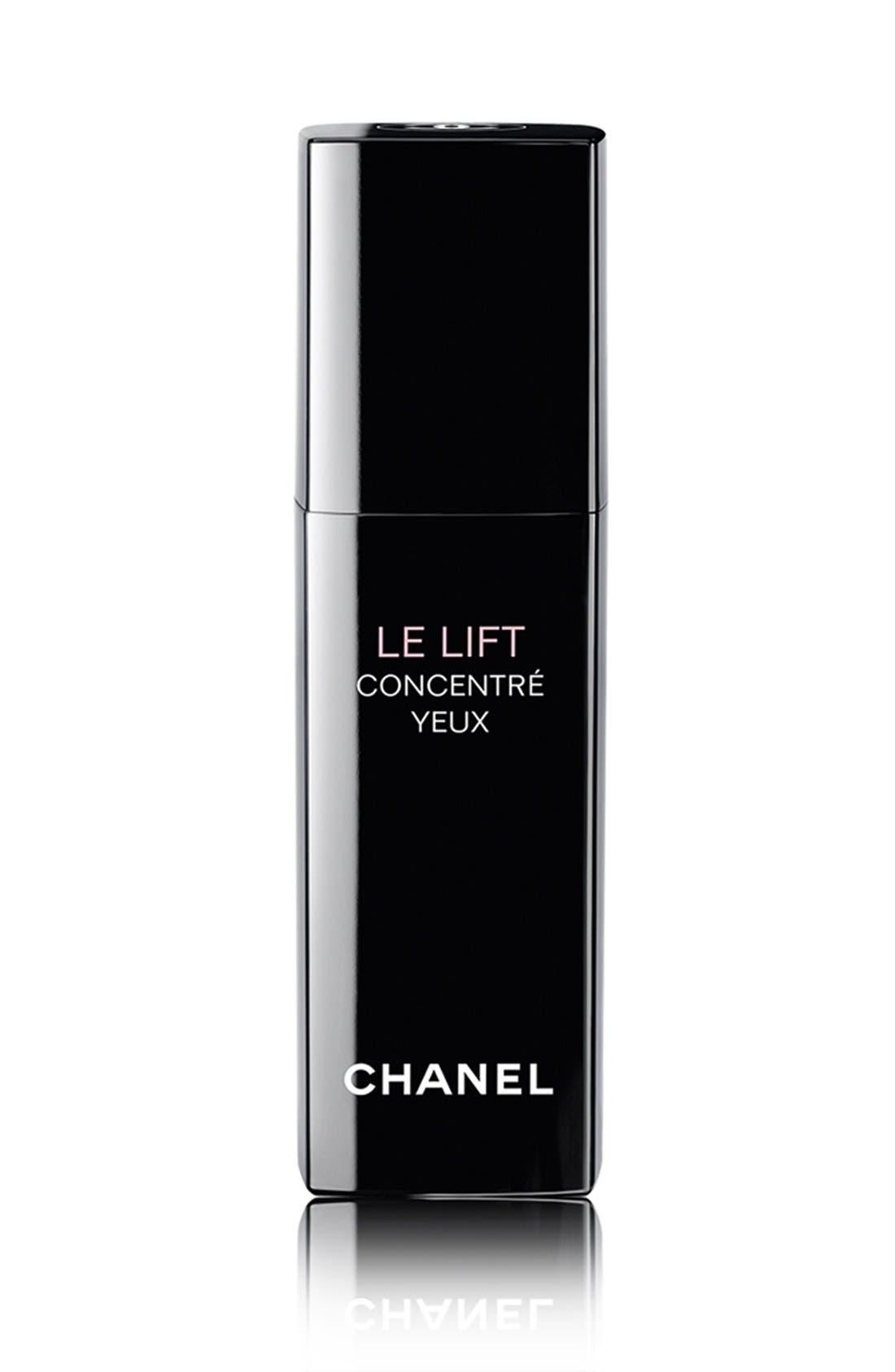 CHANEL LE LIFT CONCENTRÉ YEUX<br />Firming Anti-Wrinkle Eye Concentrate, Main, color, NO COLOR