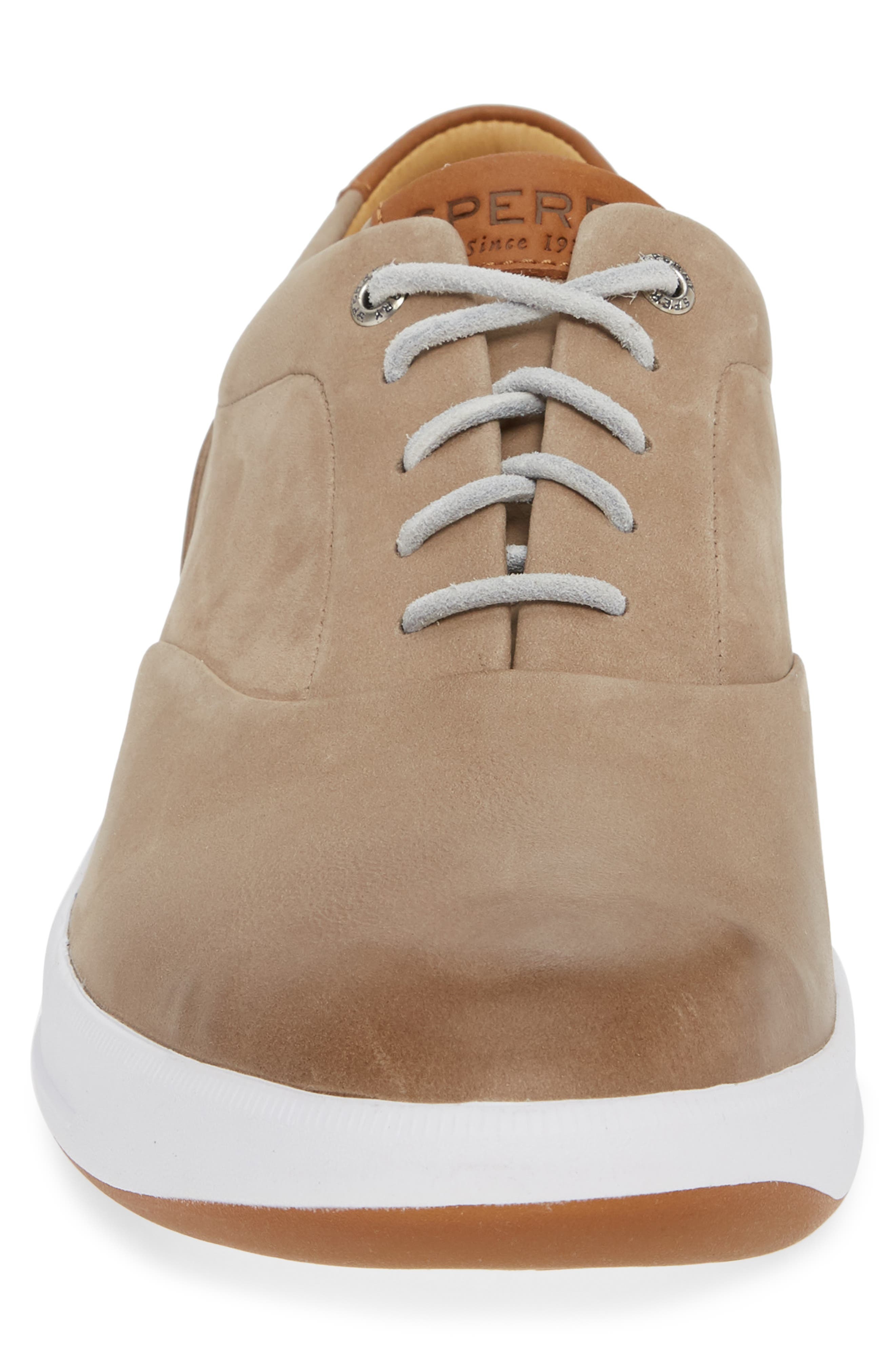 SPERRY, Gold Cup Richfield CVO Sneaker, Alternate thumbnail 4, color, DOVE