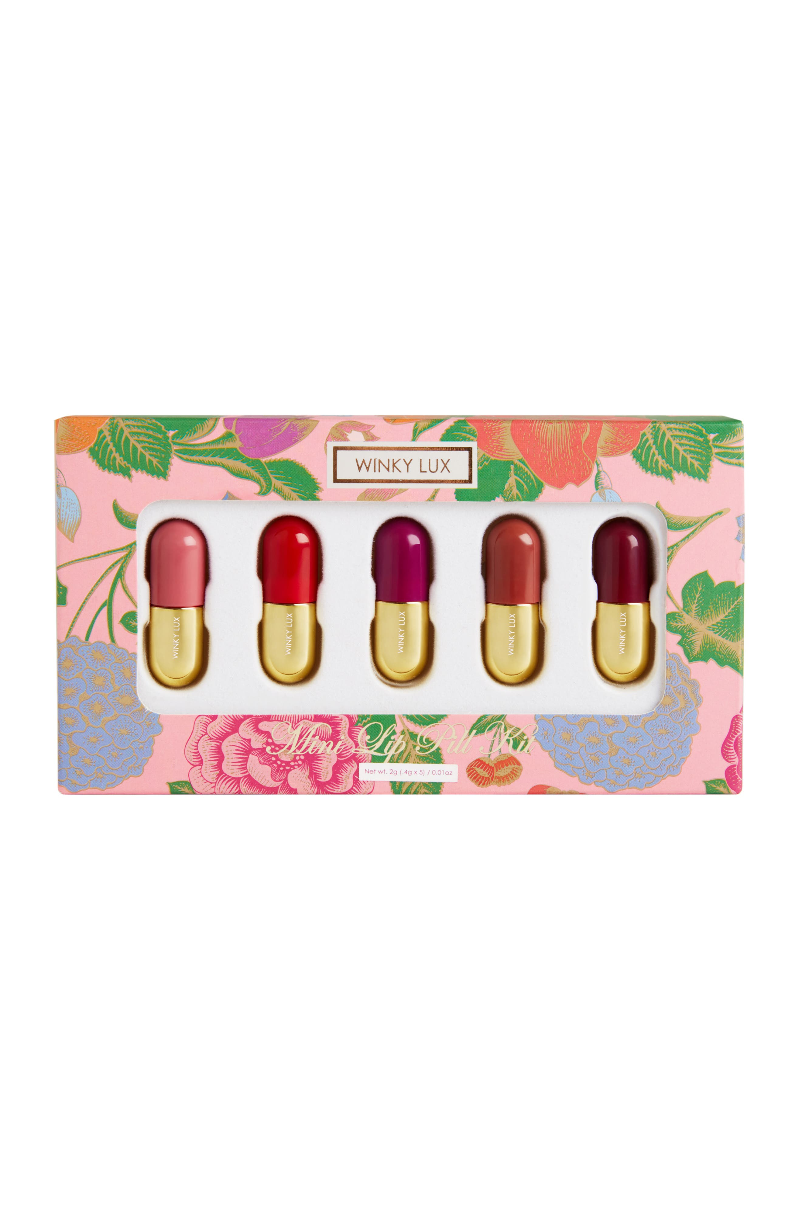 WINKY LUX, Mini Lip Pill Kit, Alternate thumbnail 2, color, NO COLOR