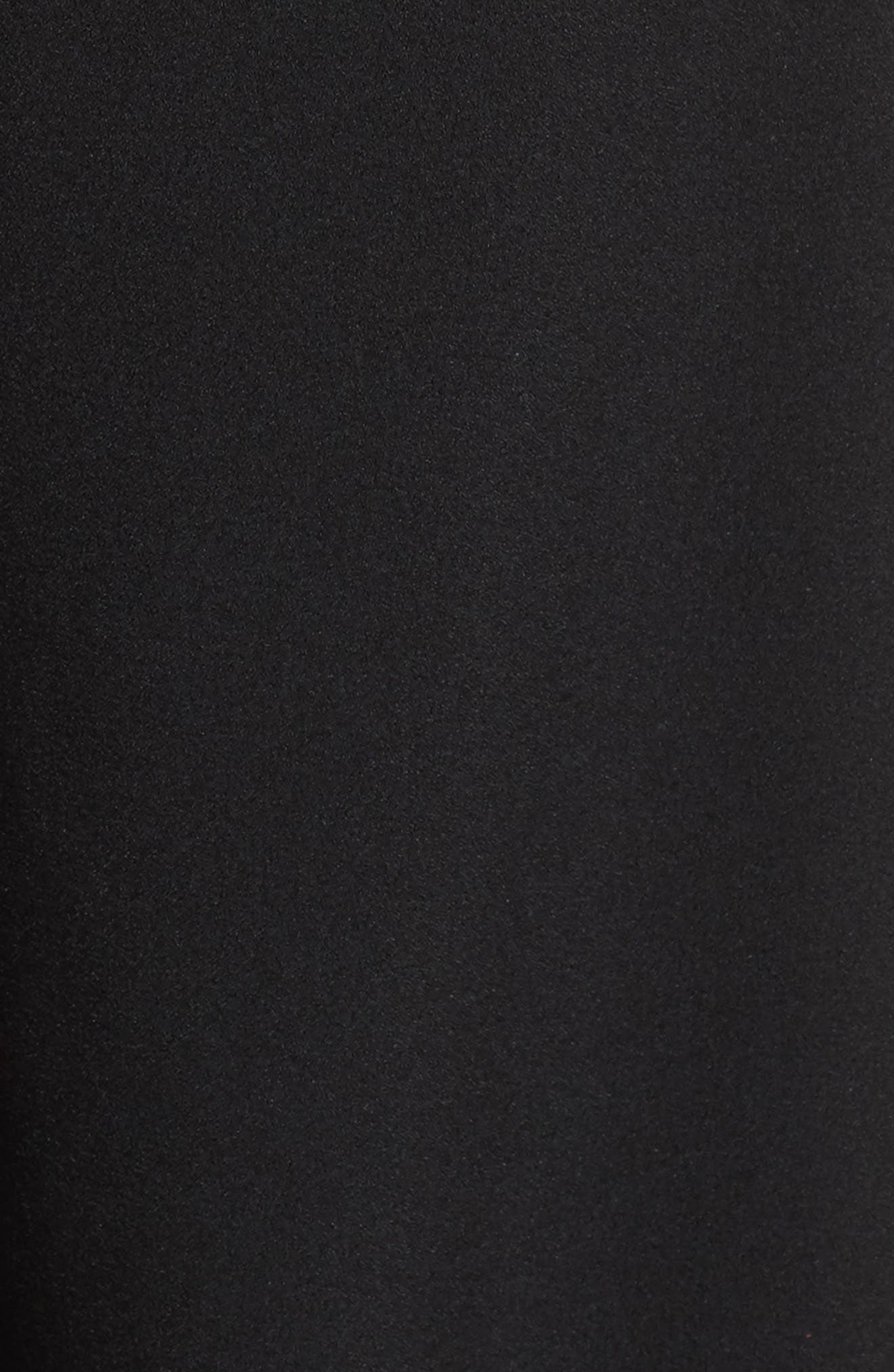 JULIA JORDAN, Halter Wide Leg Jumpsuit, Alternate thumbnail 6, color, BLACK