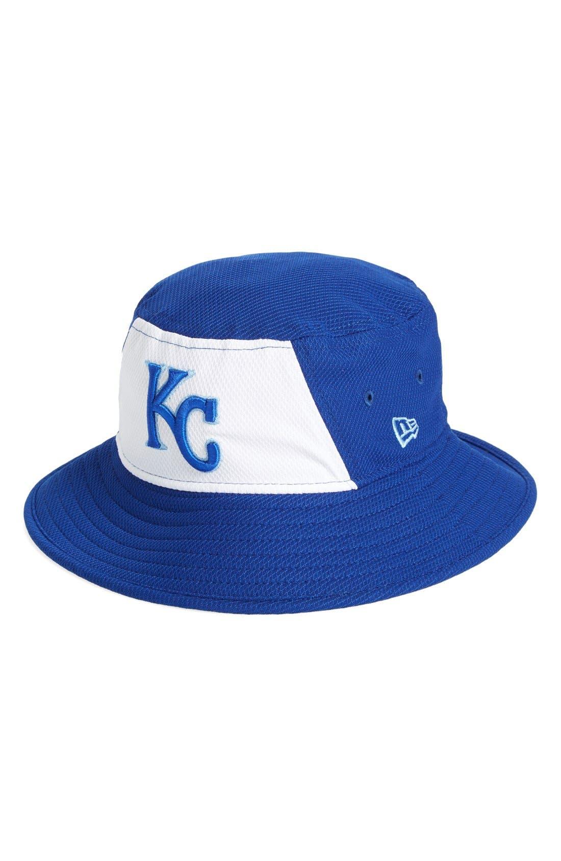 wholesale dealer 472e3 67113 ... new era cap kansas city royals bucket hat main color