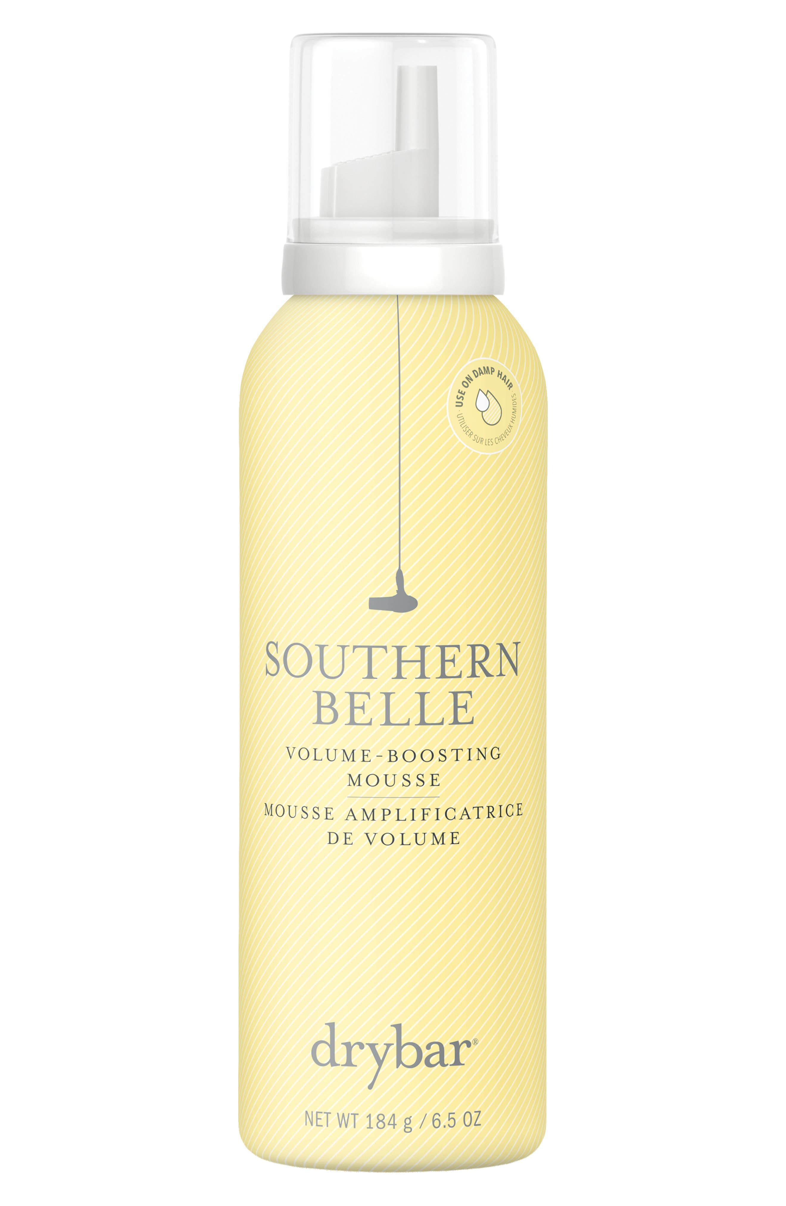 DRYBAR, Southern Belle Volume-Boosting Mousse, Main thumbnail 1, color, NO COLOR