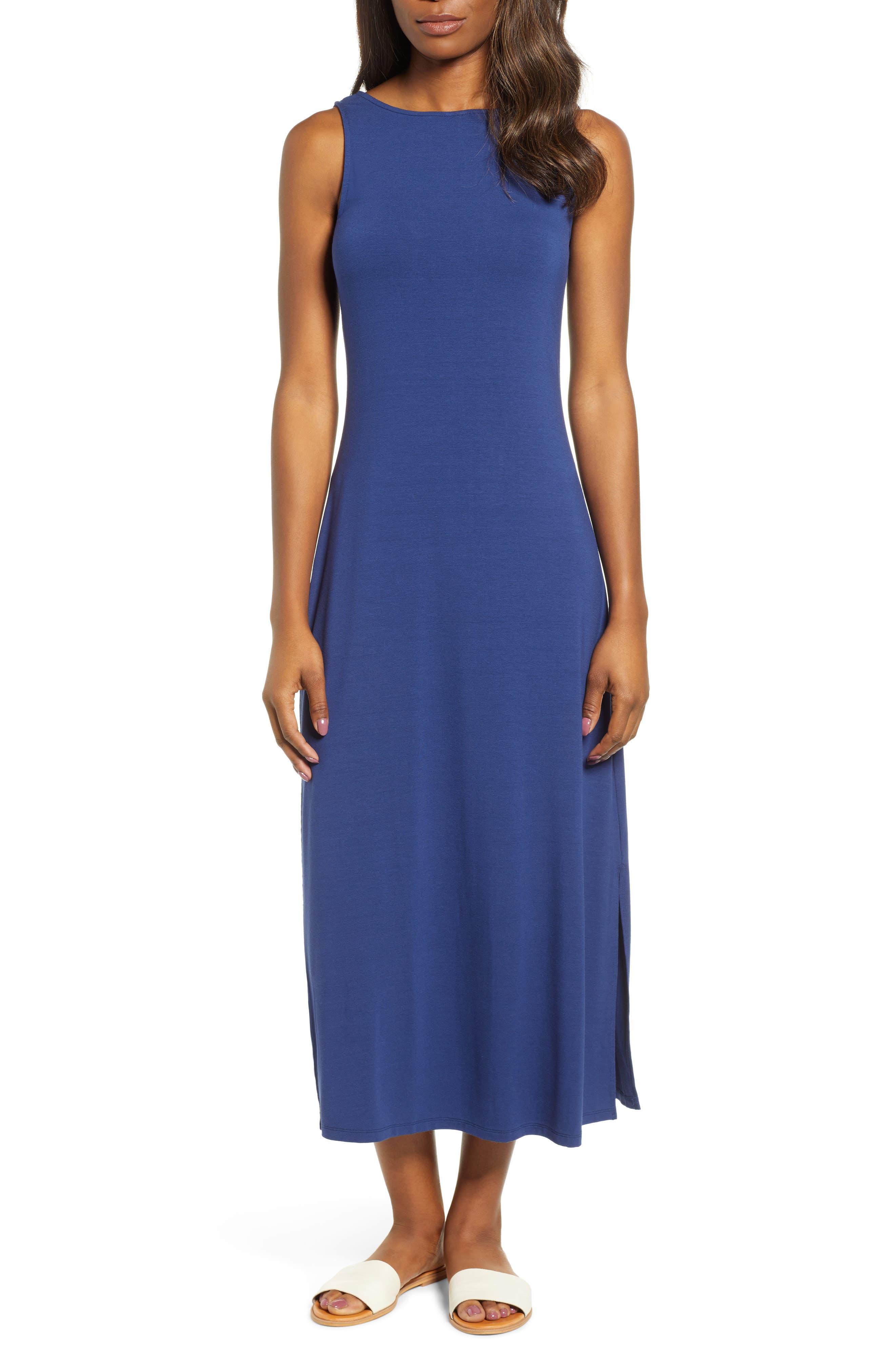 Tommy Bahama Tambour Midi Dress, Blue