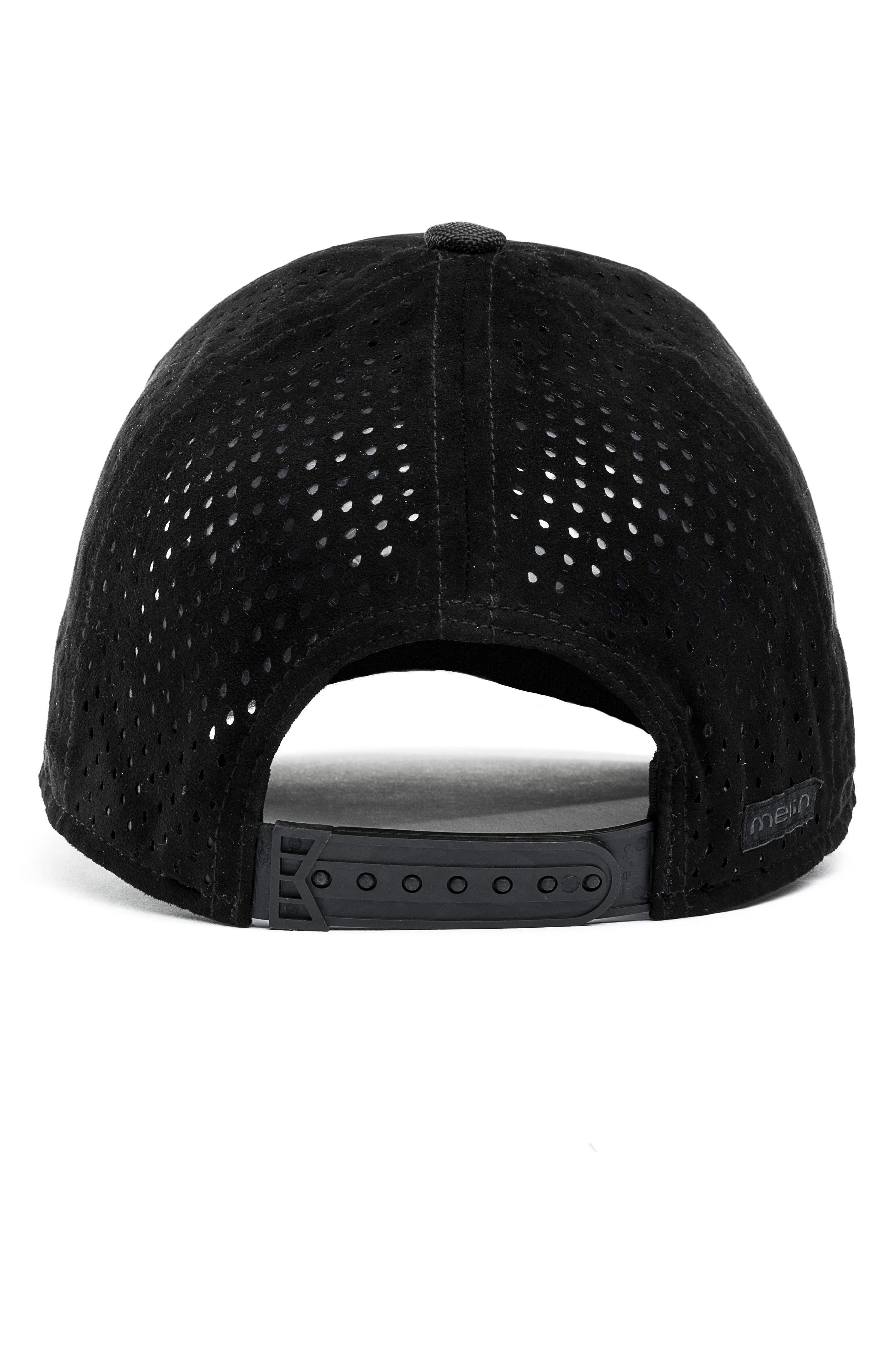 MELIN, Trooper II Snapback Baseball Cap, Alternate thumbnail 3, color, BLACK