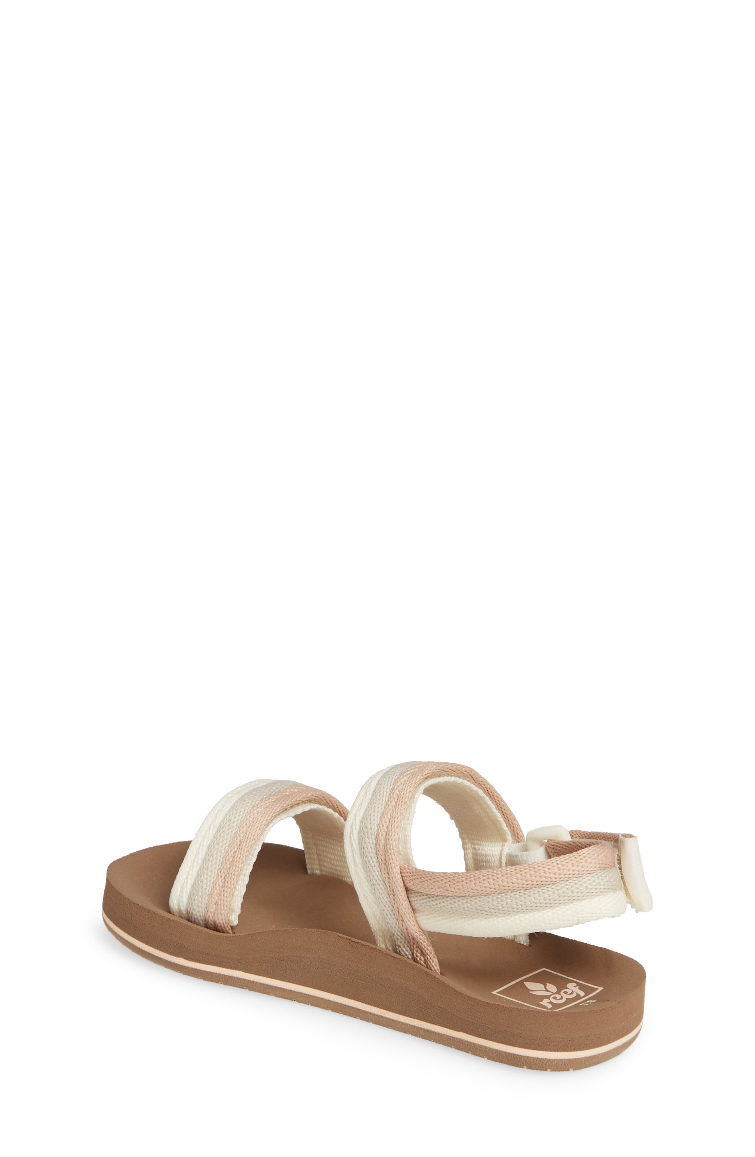 REEF, Little Ahi Convertible Sandal, Alternate thumbnail 2, color, SANDY TOES