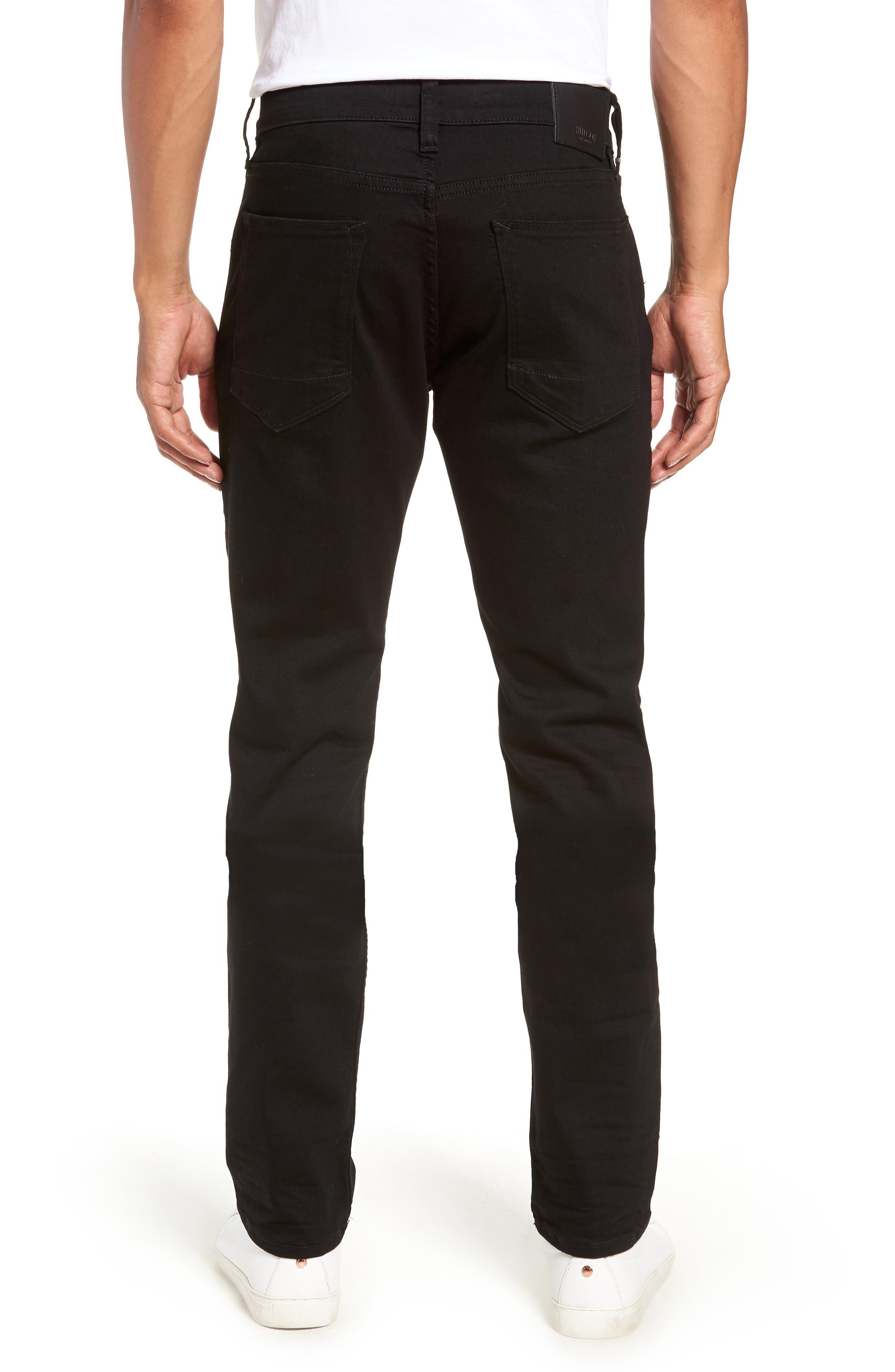 HUDSON JEANS, Blake Slim Fit Straight Leg Jeans, Alternate thumbnail 2, color, HASKETT