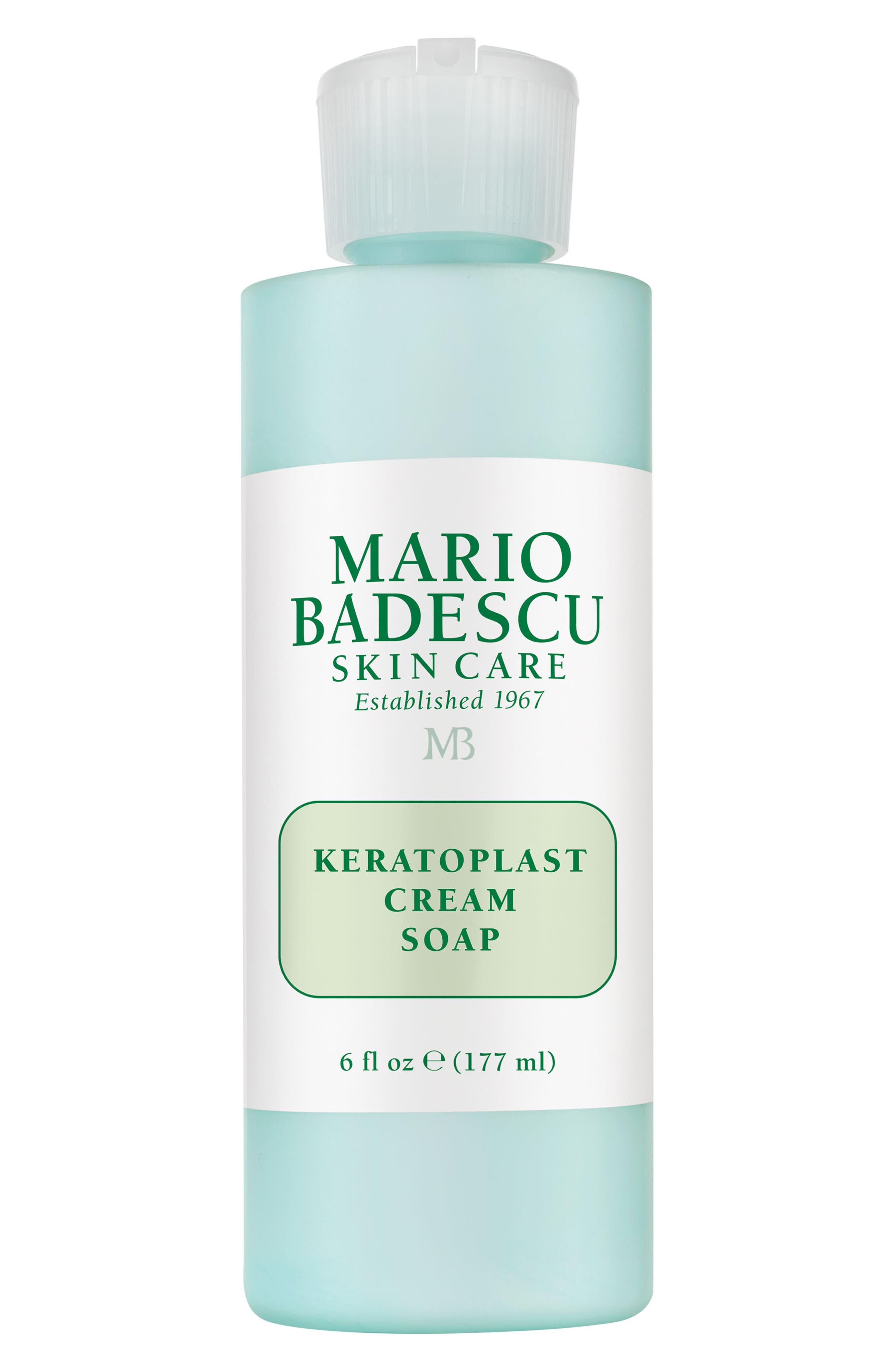 MARIO BADESCU, 'Keratoplast' Cream Soap, Main thumbnail 1, color, NO COLOR