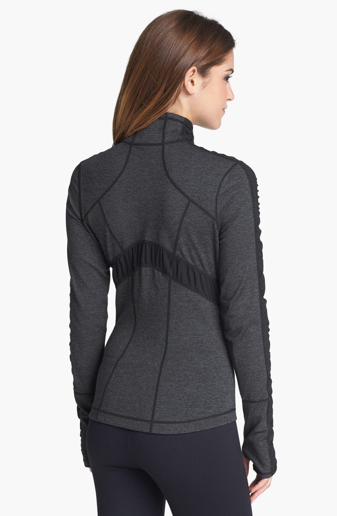 ZELLA, 'Prism' Cross Dye Jacket, Alternate thumbnail 4, color, 001