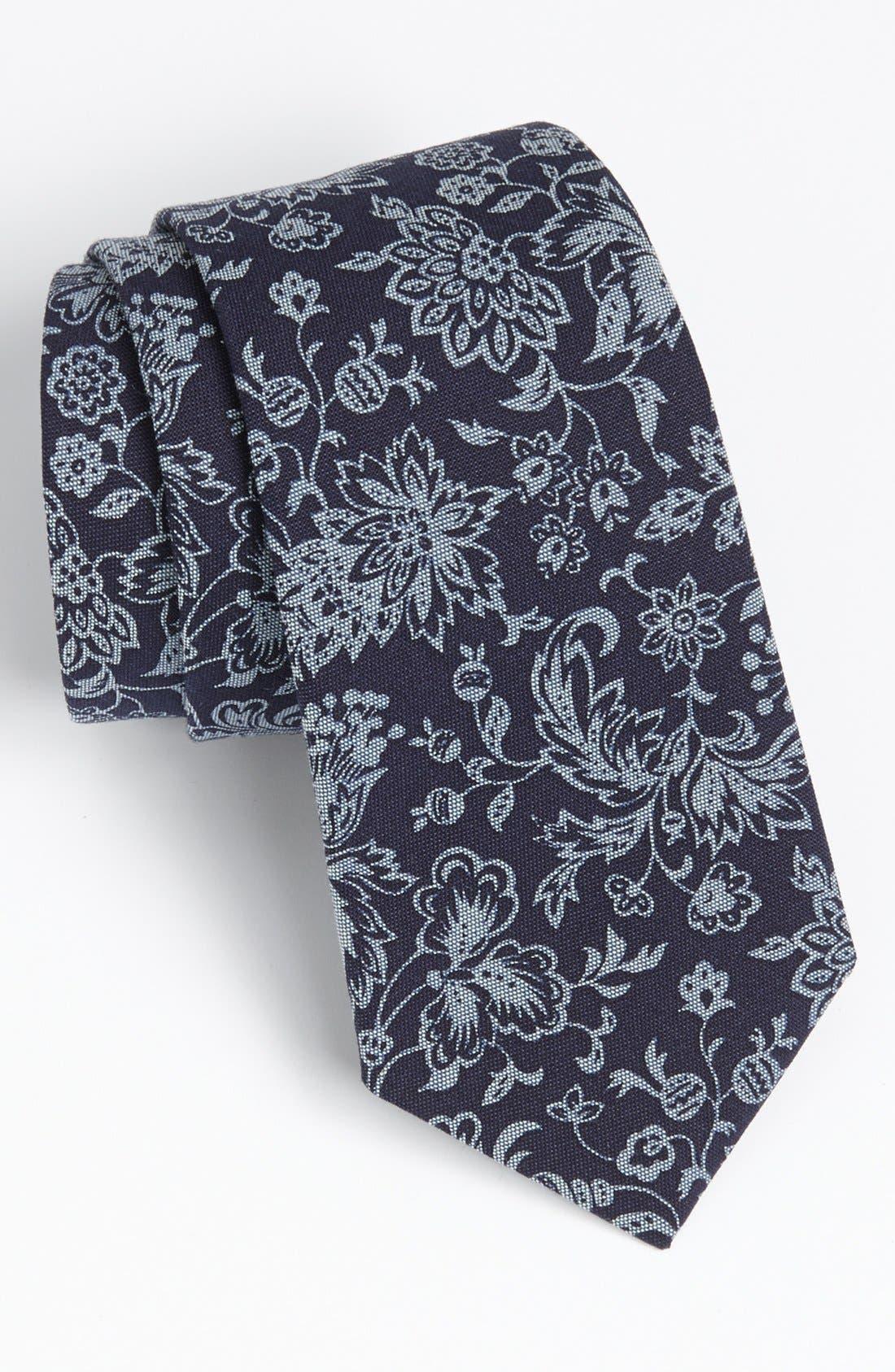 ROBERT STEWART, Woven Tie, Main thumbnail 1, color, 410