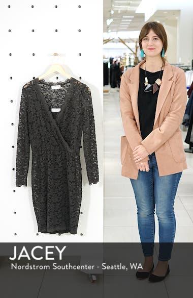 Delicia Scallop Detail Cotton Blend Lace Dress, sales video thumbnail