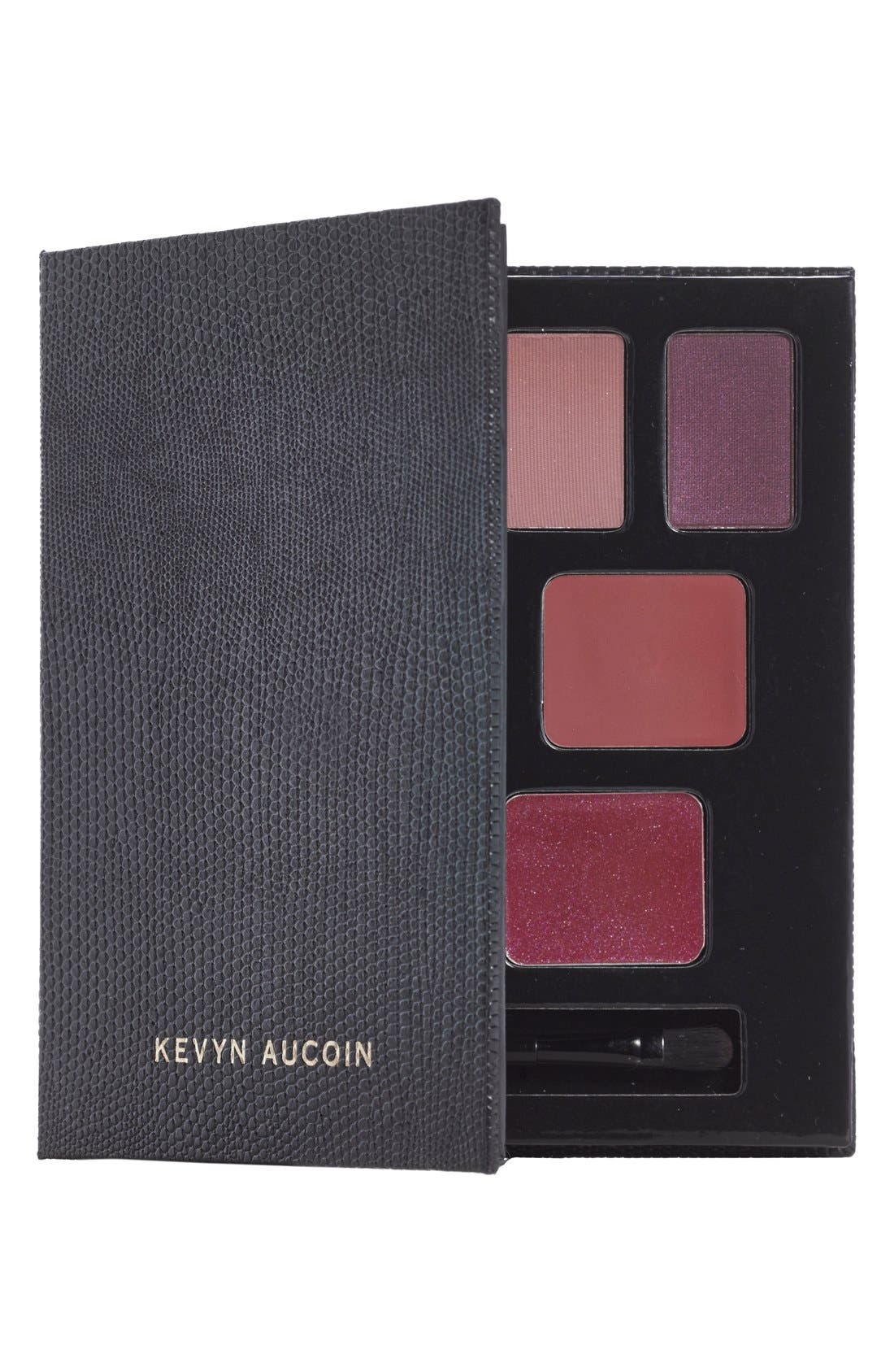 KEVYN AUCOIN BEAUTY, 'The Holiday Lookbook' Kit, Alternate thumbnail 3, color, 000