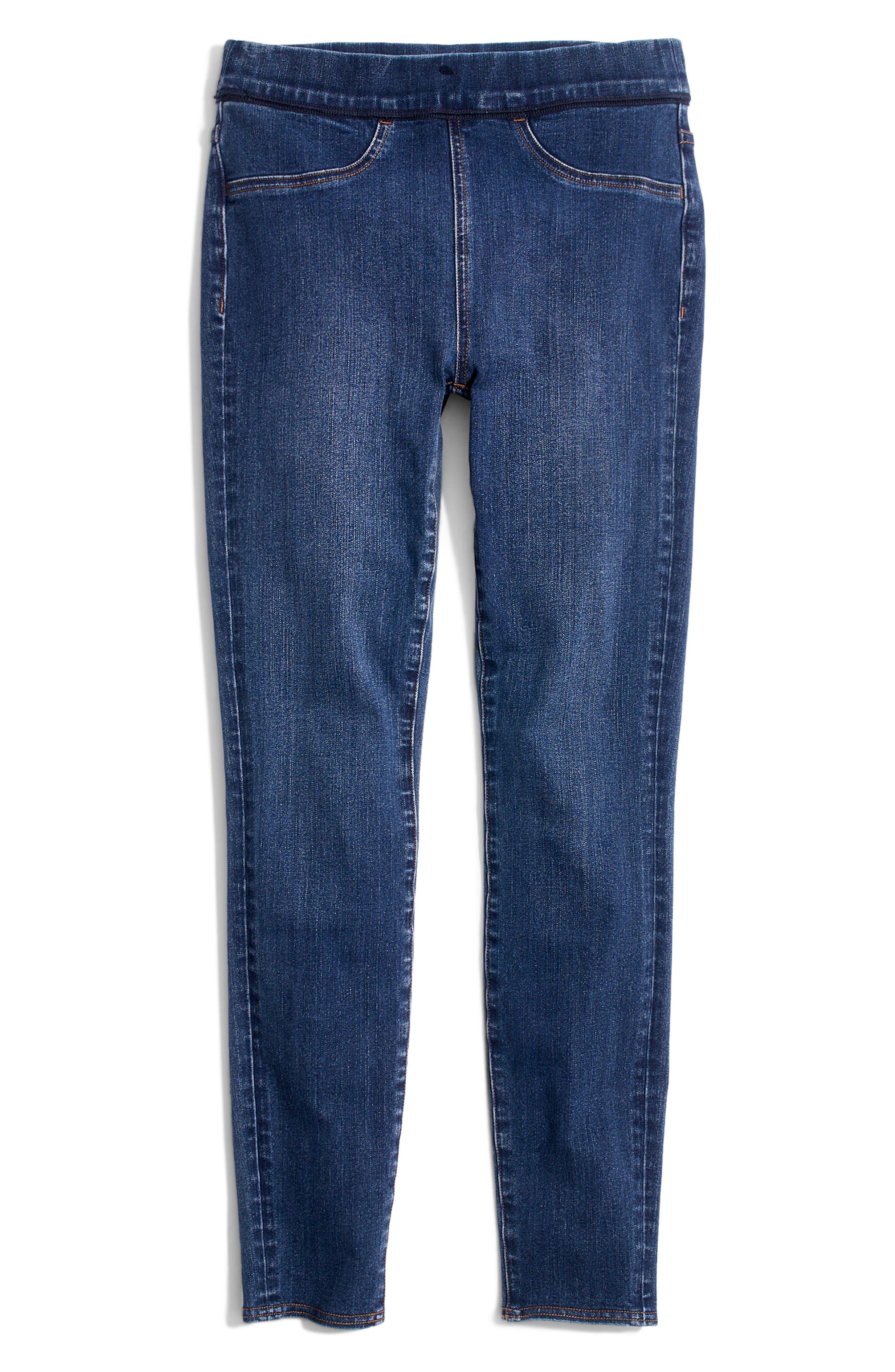 MADEWELL, Pull-On Jeans, Alternate thumbnail 6, color, FREEBURG