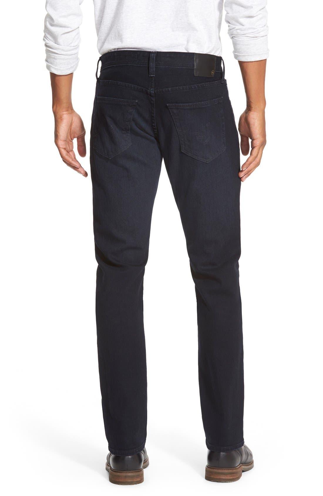 AG, Graduate Slim Straight Leg Jeans, Alternate thumbnail 6, color, BUNDLED