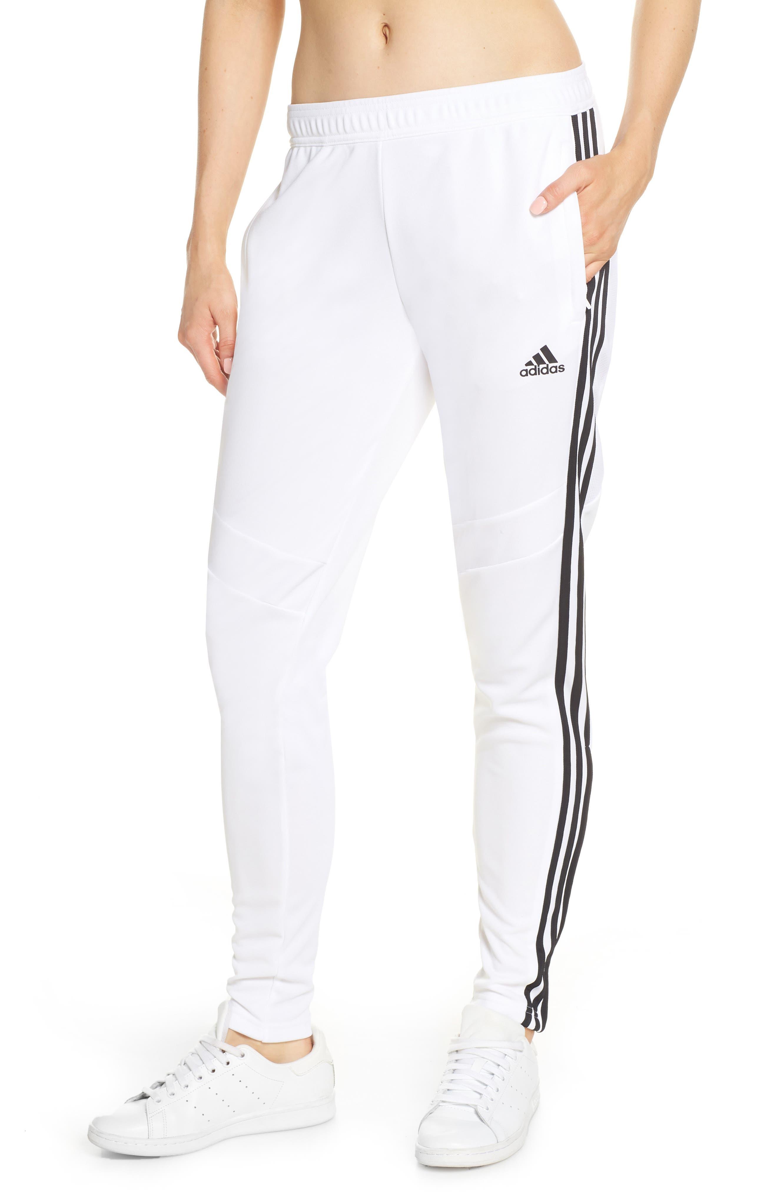 ADIDAS, Tiro 19 Training Pants, Main thumbnail 1, color, WHITE/ BLACK