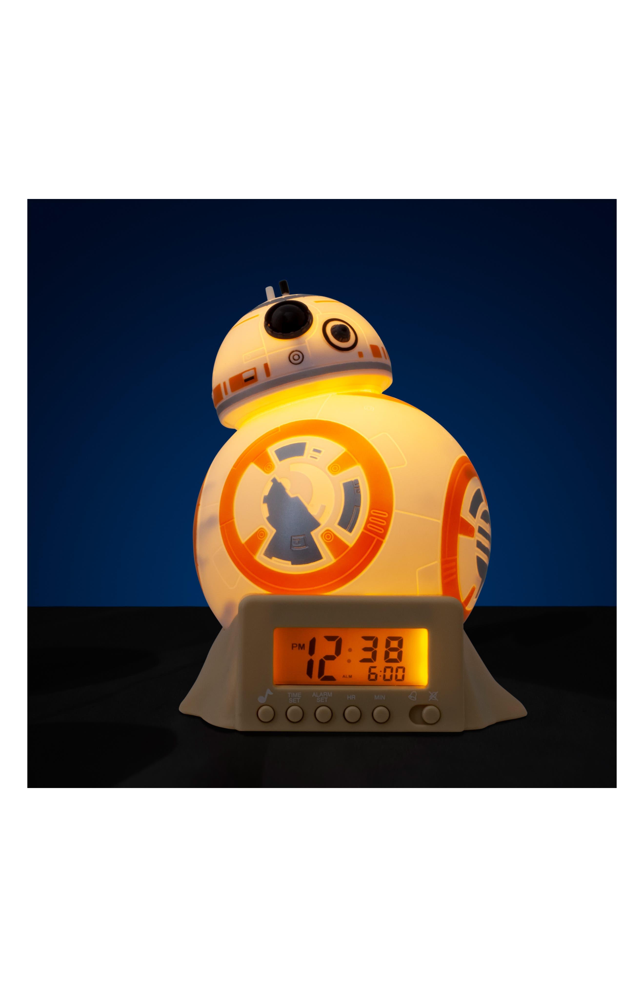 LEGO<SUP>®</SUP>, BulbBotz Star Wars<sup>™</sup> BB-8 Night Light Alarm Clock, Alternate thumbnail 2, color, 100
