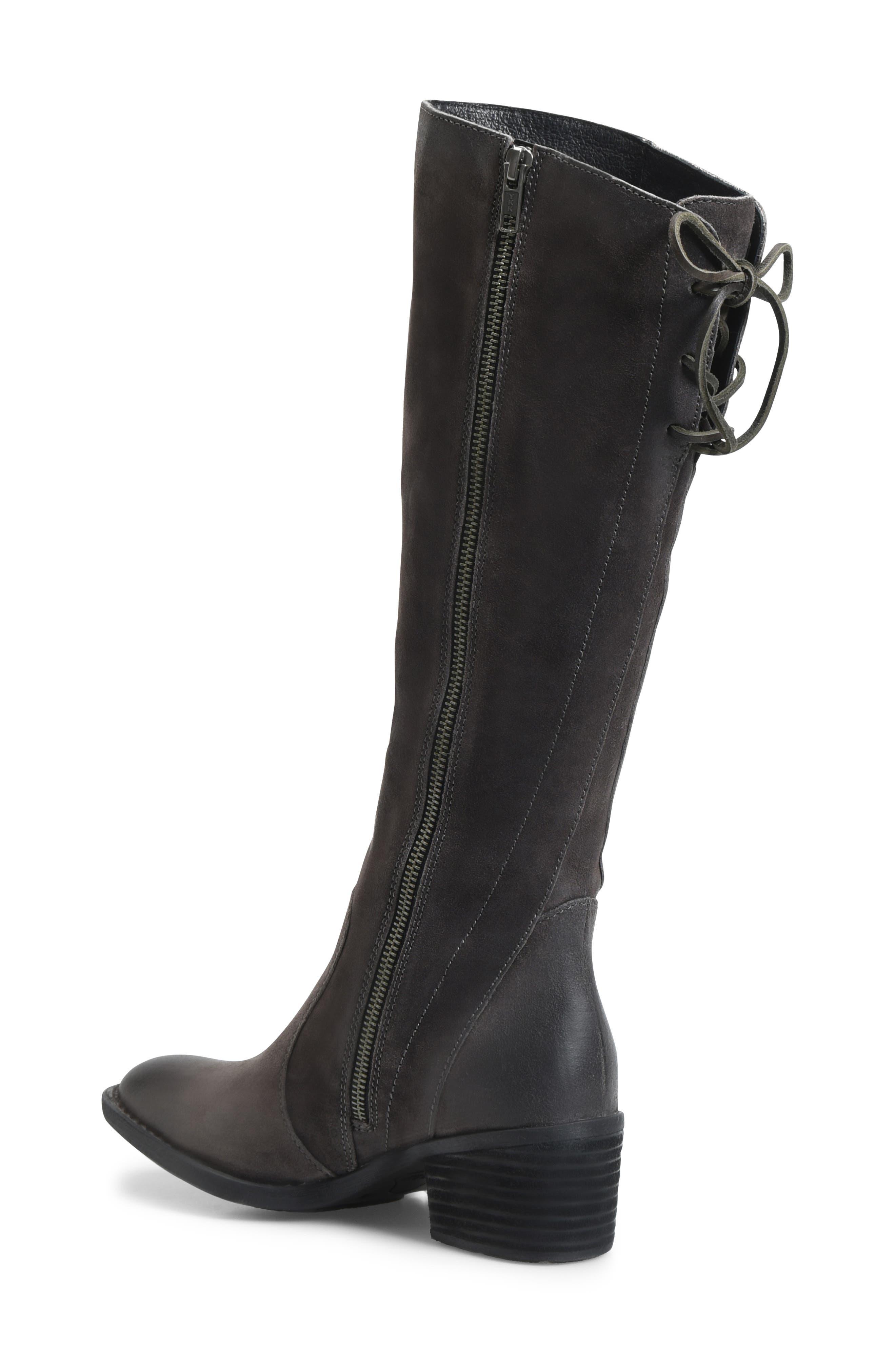 BØRN, Felicia Knee High Boot, Alternate thumbnail 2, color, 021