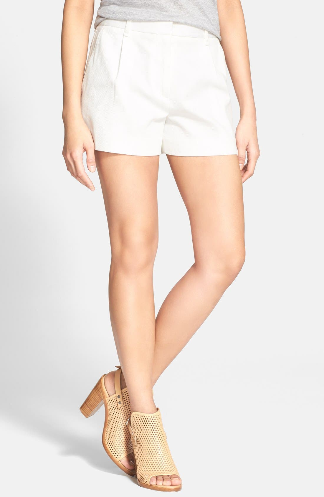 RAG & BONE, 'Montgomery' Stretch Cotton Shorts, Main thumbnail 1, color, 105