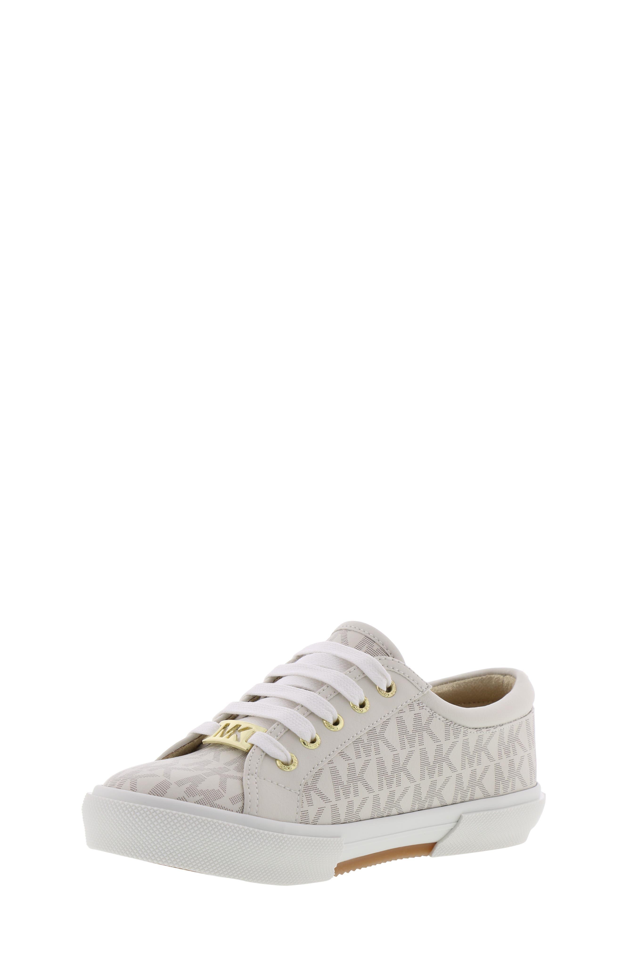 MICHAEL MICHAEL KORS, Ima Rebel Sneaker, Alternate thumbnail 8, color, VANILLA