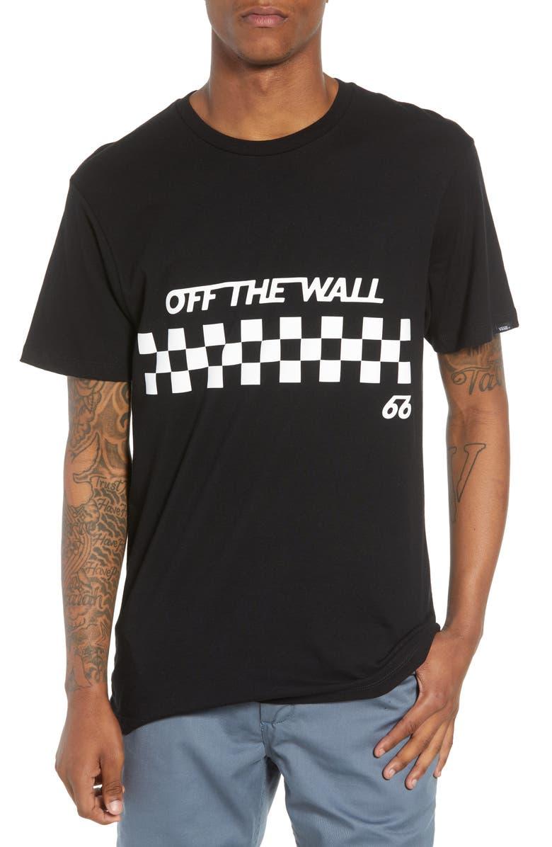 8ac28ecb18 Vans Off the Wall Checks Graphic T-Shirt