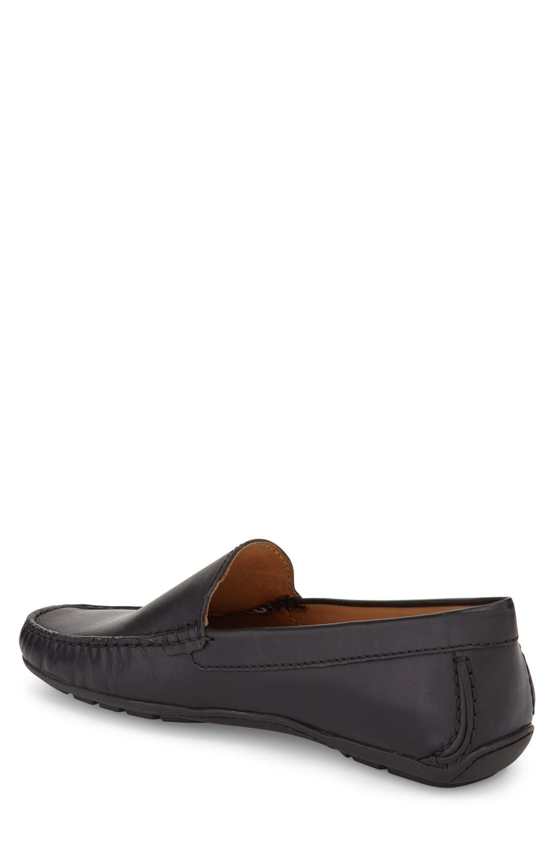MARC JOSEPH NEW YORK, Venetian Driving Loafer, Alternate thumbnail 2, color, 001