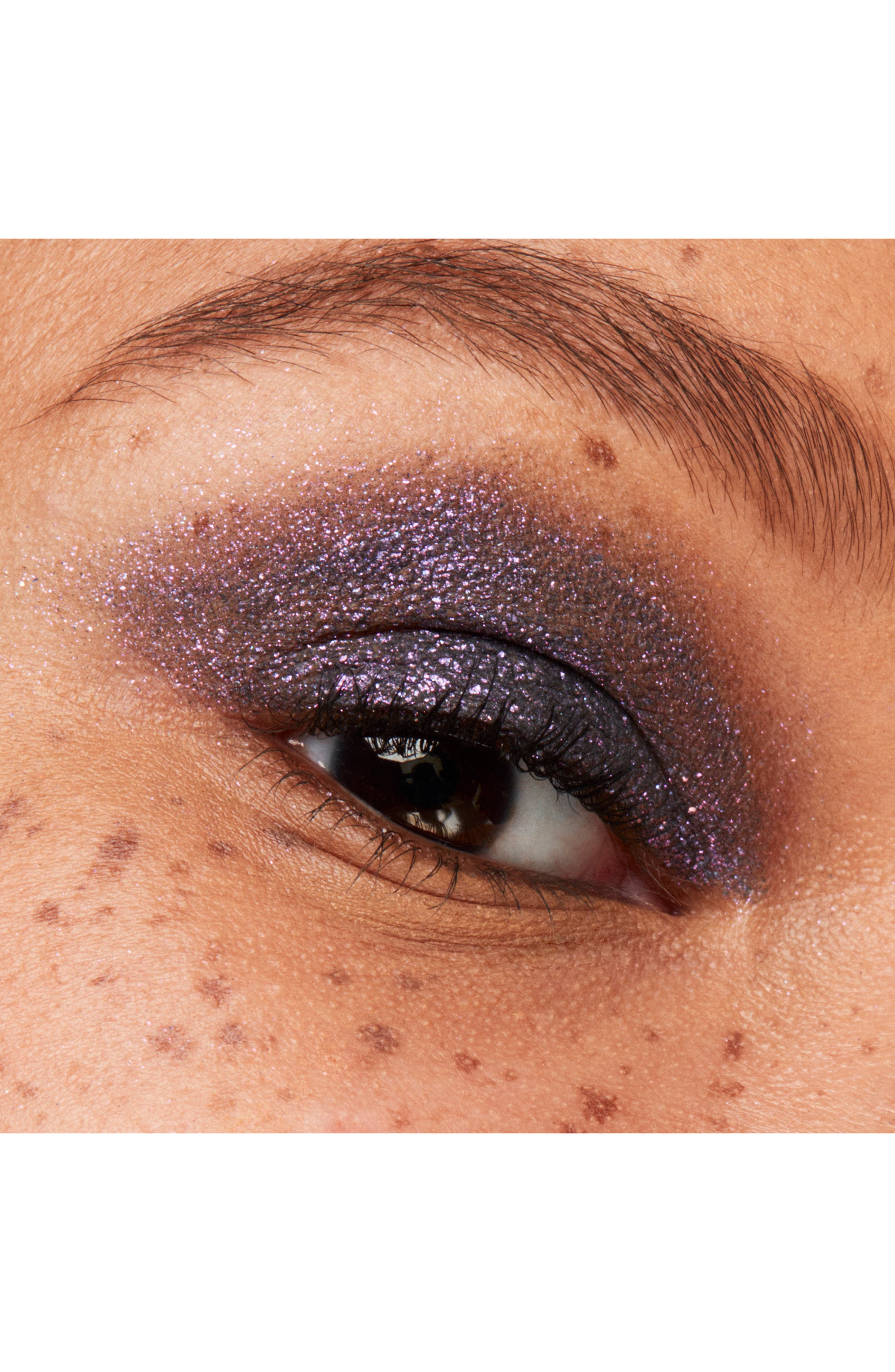 MAC COSMETICS, MAC Dazzleshadow Liquid Eyeshadow, Alternate thumbnail 4, color, PANTHERTIZED (SHIMMER)