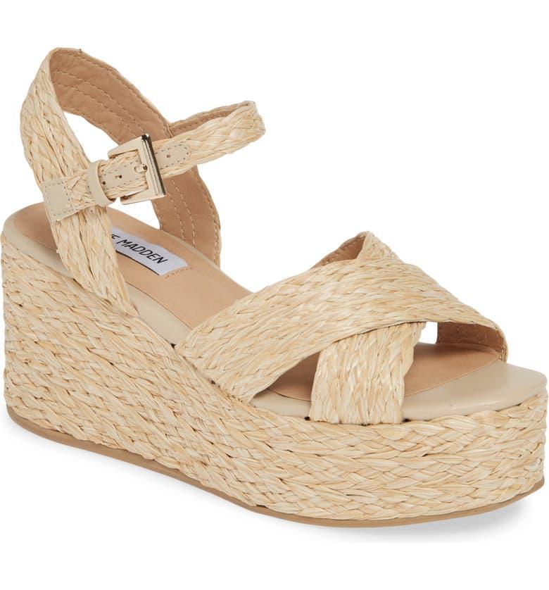 0a4251ece34 Steve Madden Pam Espadrille Platform Wedge Sandal (Women)
